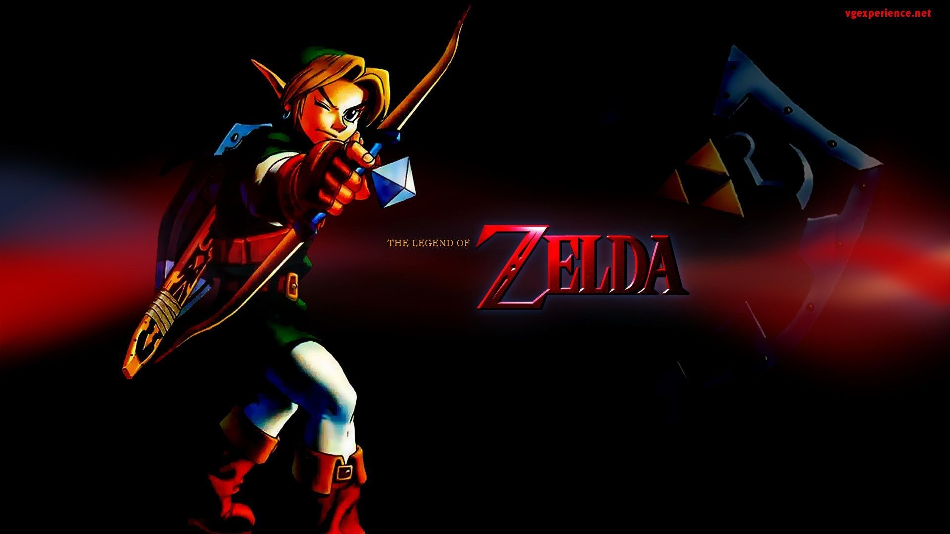 Legend Of Zelda Ocarina Of Time Wallpaper