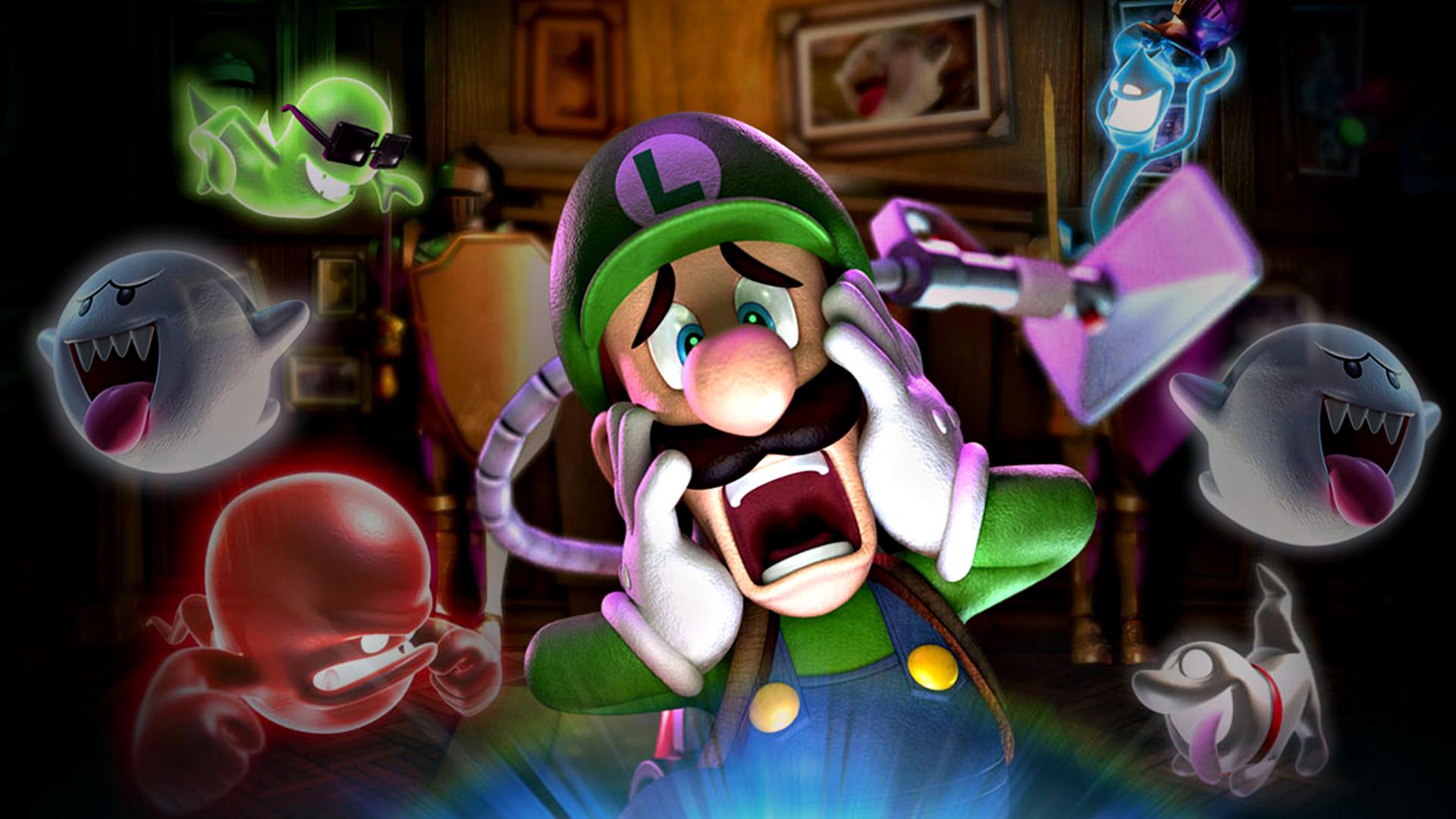 Luigi's Mansion 2 (Dark Moon) HD Wallpaper by Louie82Y on DeviantArt