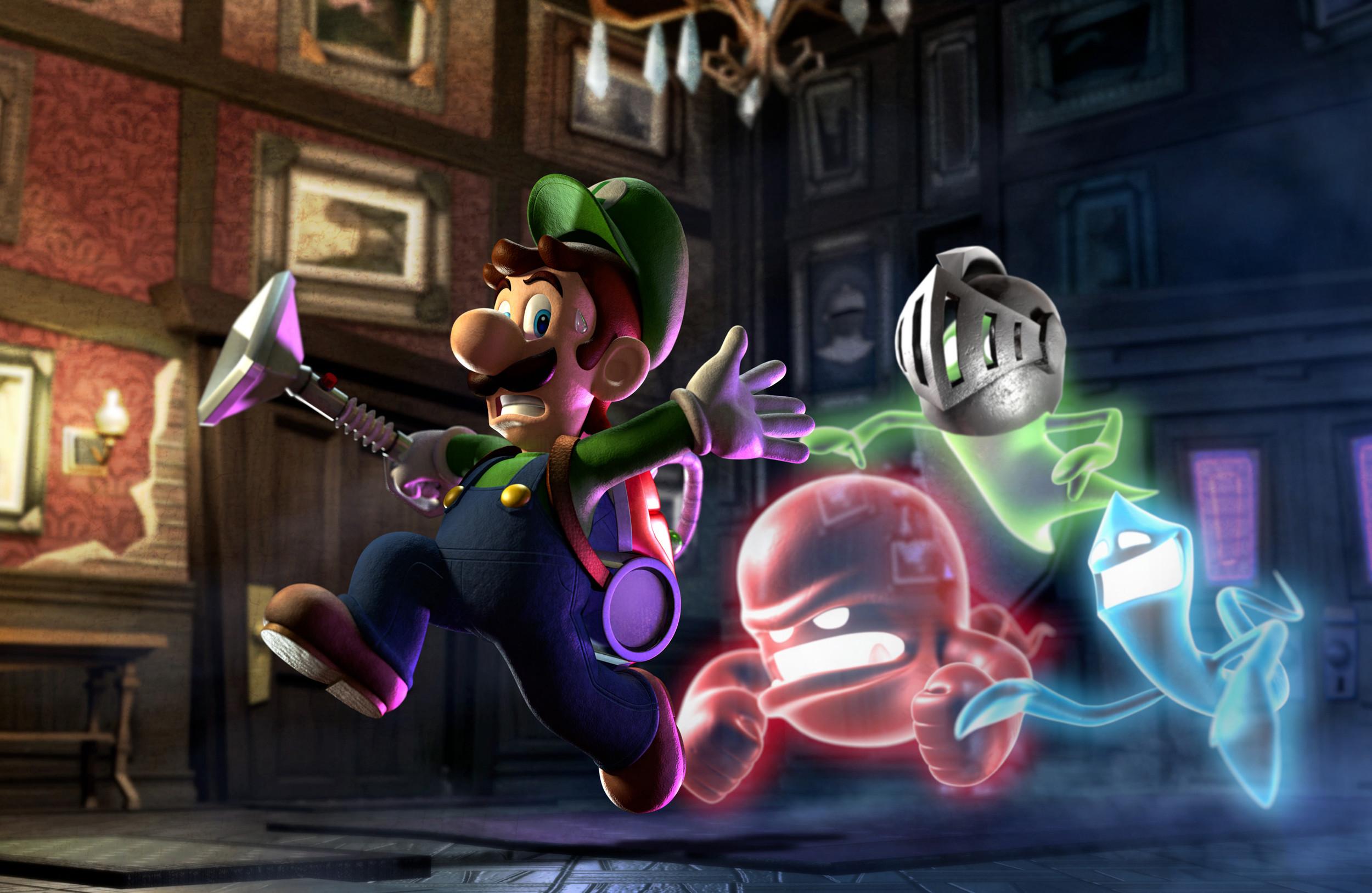 1) Luigi: Plumber …