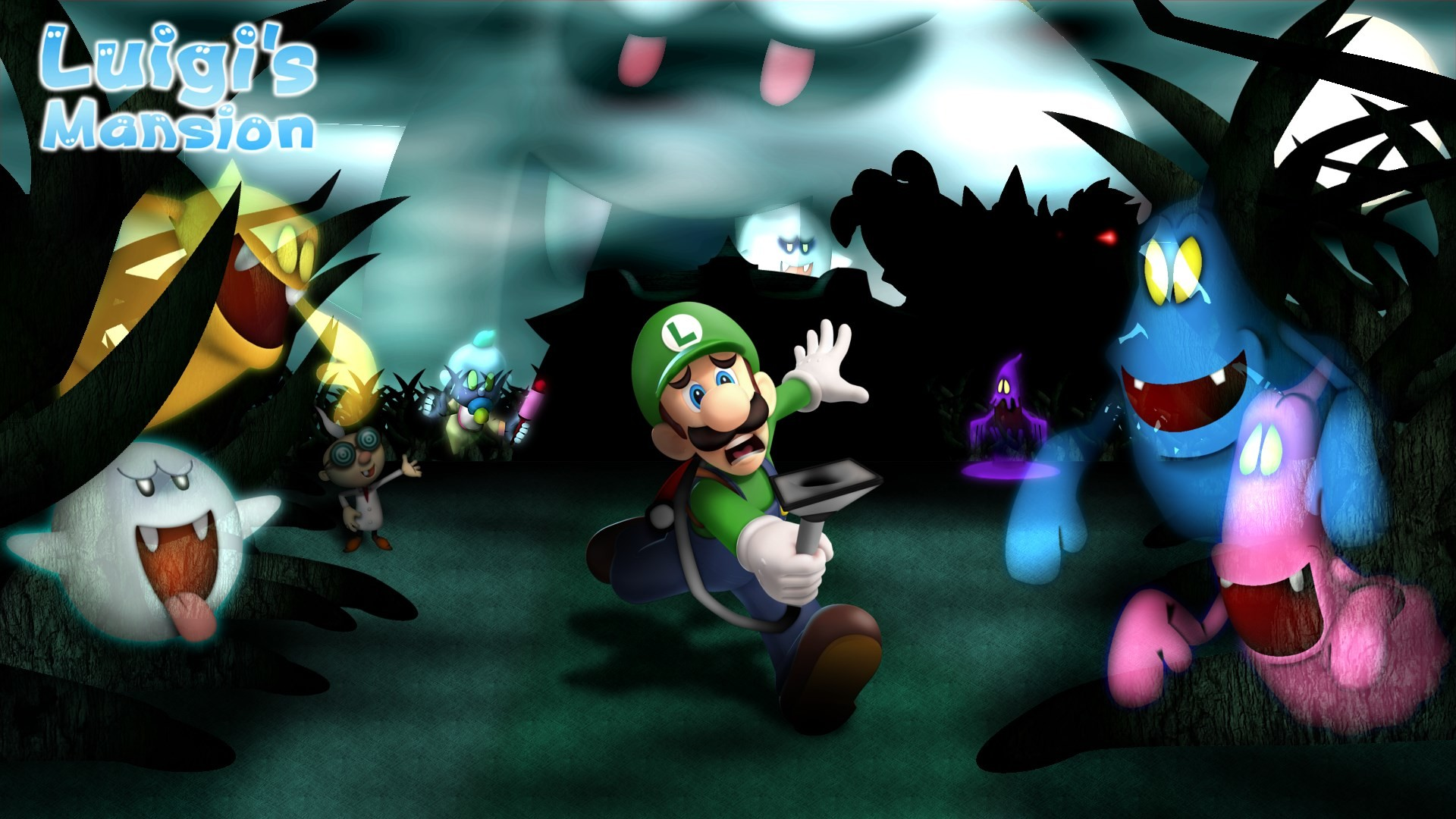 free screensaver wallpapers for luigis mansion, Hopkins Sinclair 2017-03-22