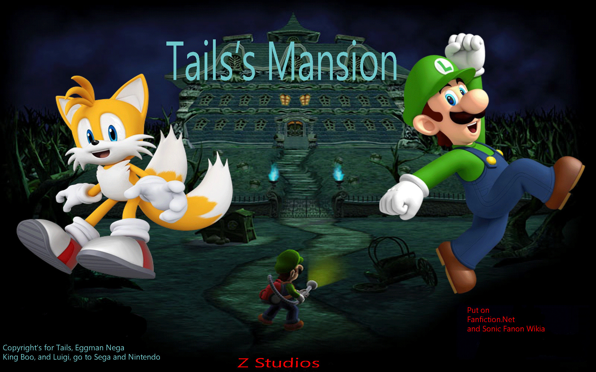 Image – Tails's-Mansion-Wallpaper-a.png   Super Mario Fanon   FANDOM  powered by Wikia