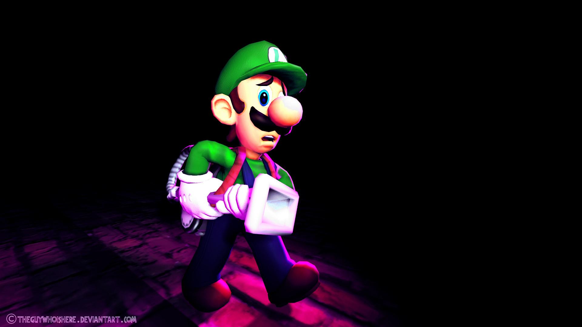 … theguywhoishere Some Luigi thingy or whatever… by theguywhoishere