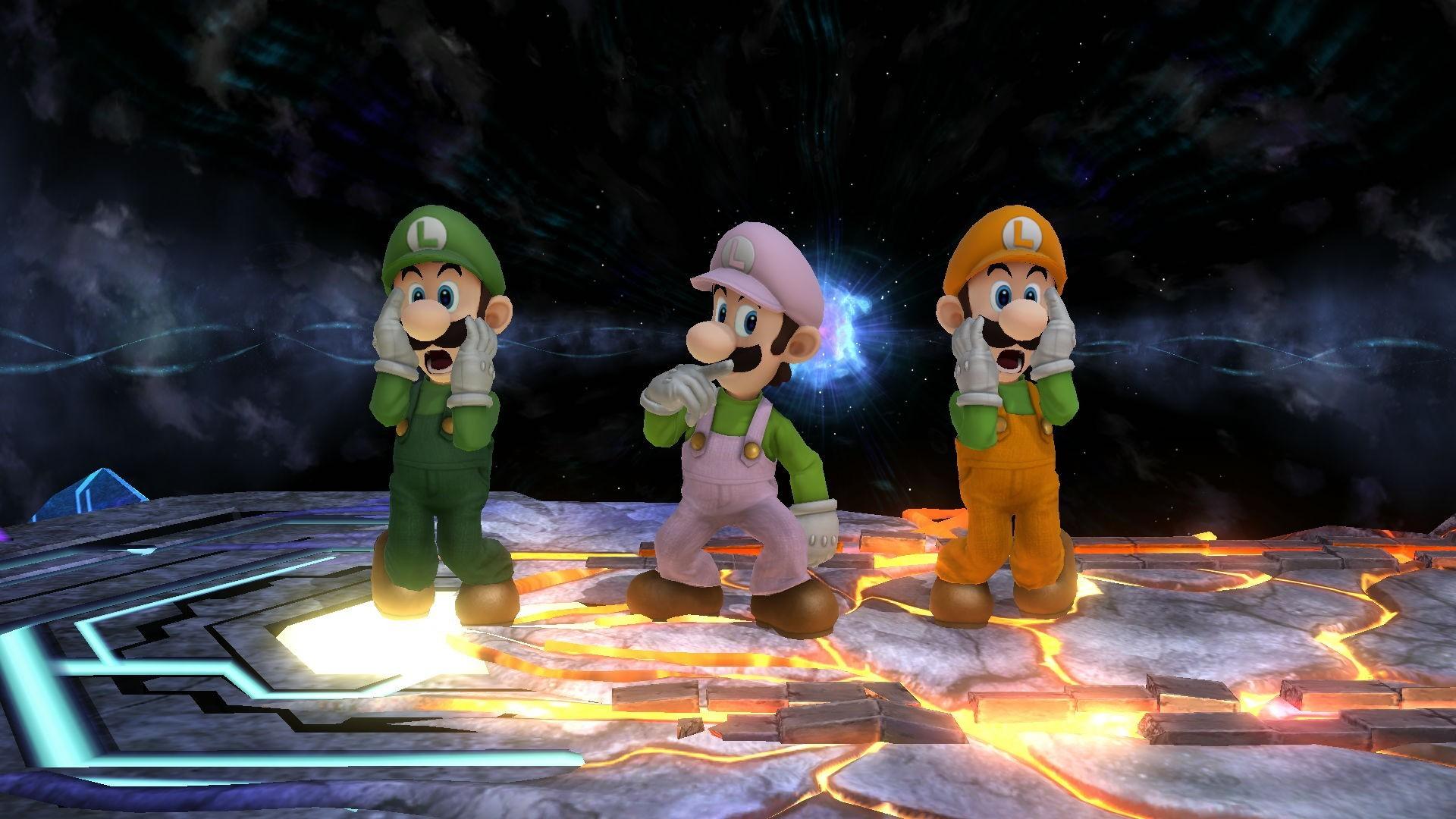 Luigi's Mansion recolors …