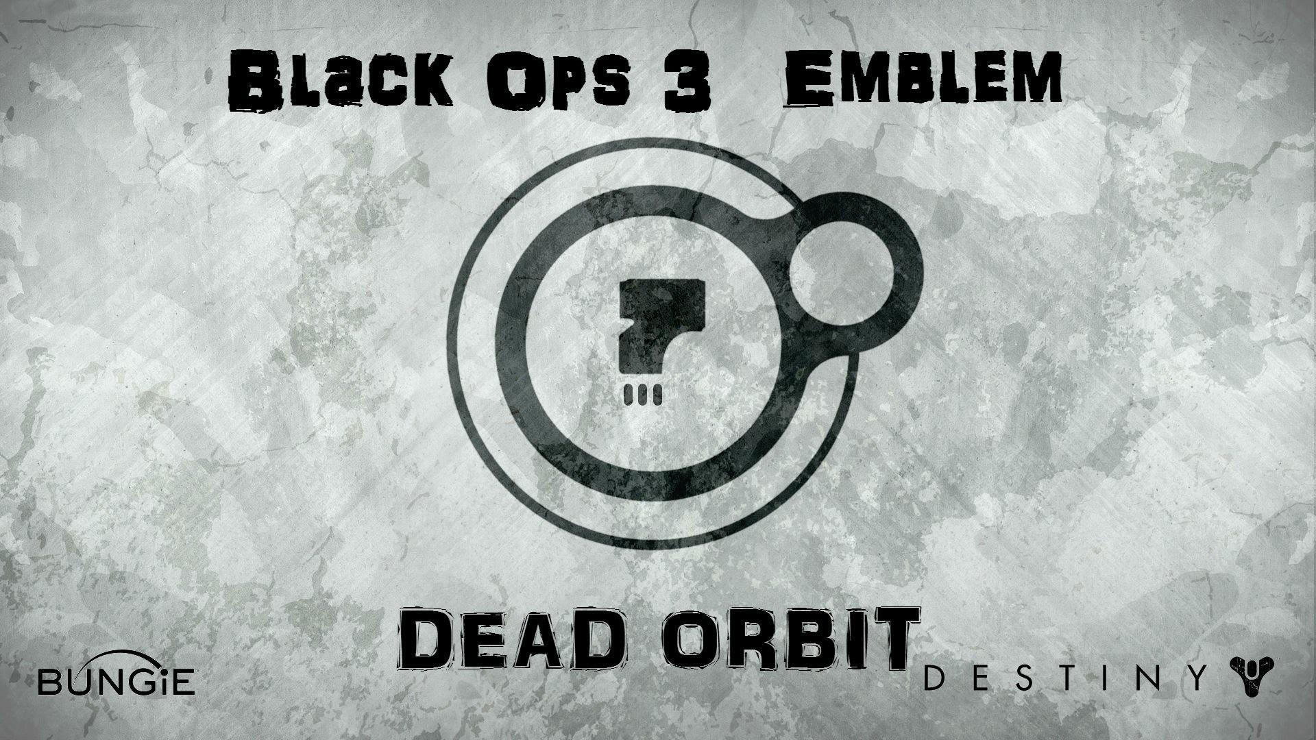 Black Ops 3: How To Make Dead Orbit Emblem