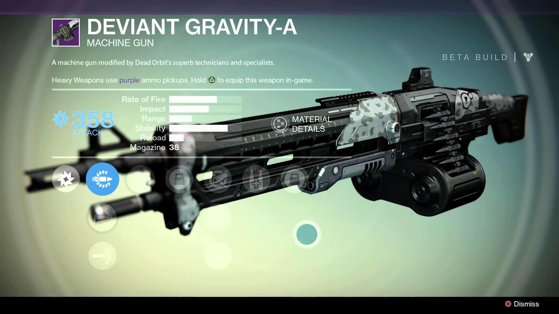 Destiny Beta: Dead Orbit Legendary Weapons and Armor