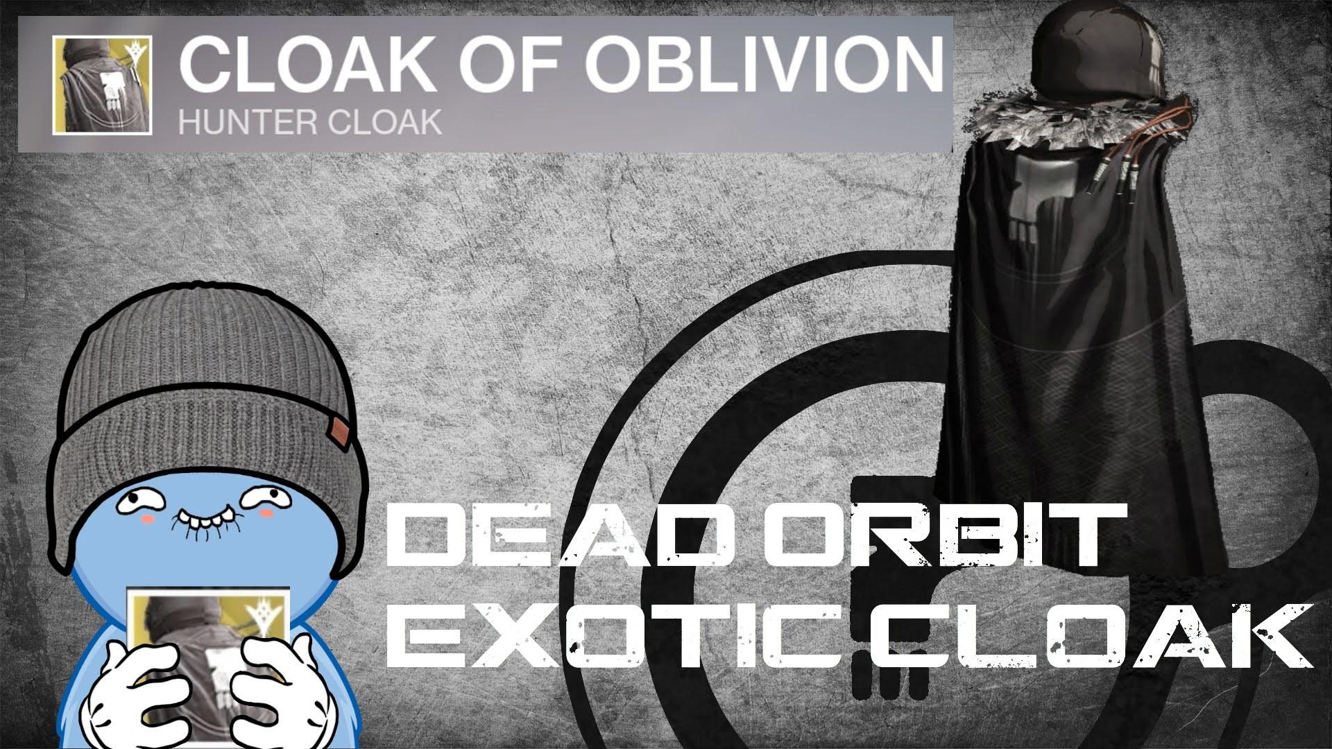 Dead Orbit Exotic Hunter Cloak