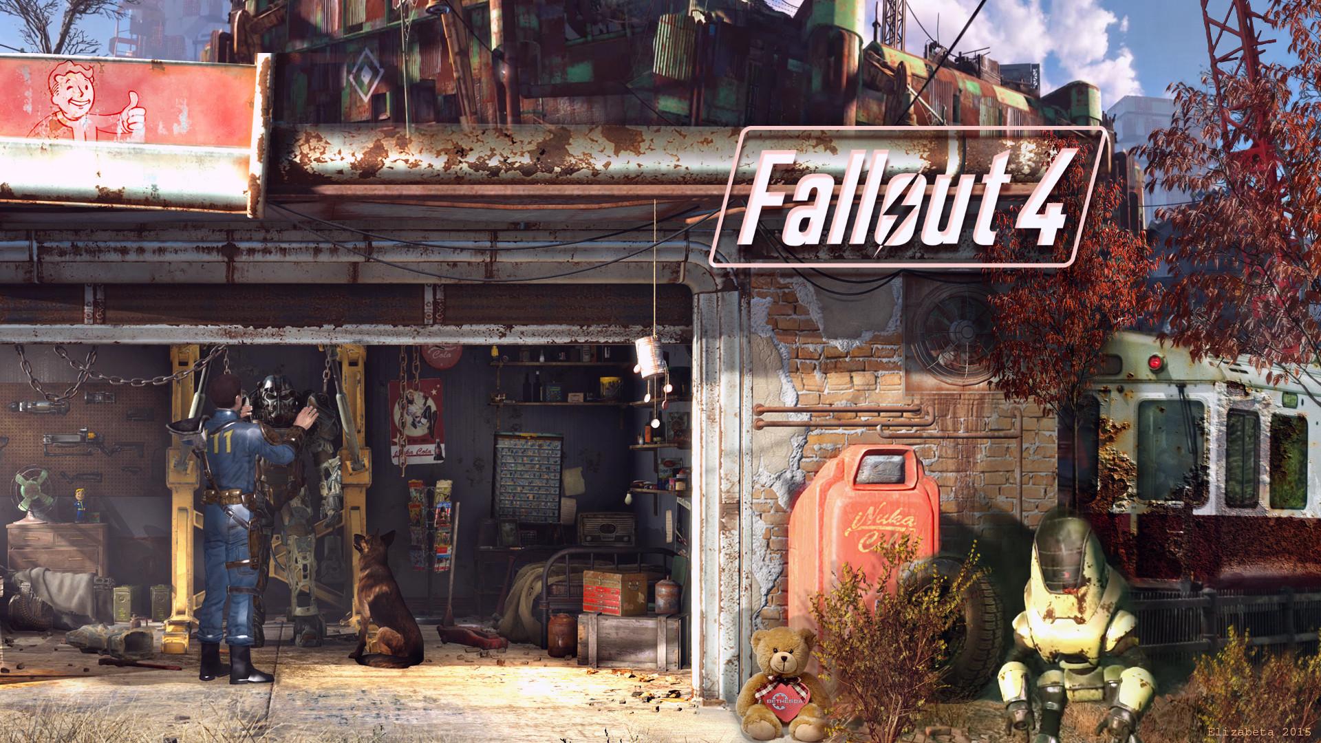 fallout 4 wallpaper by betka watch fan art wallpaper games 2015 2016 .