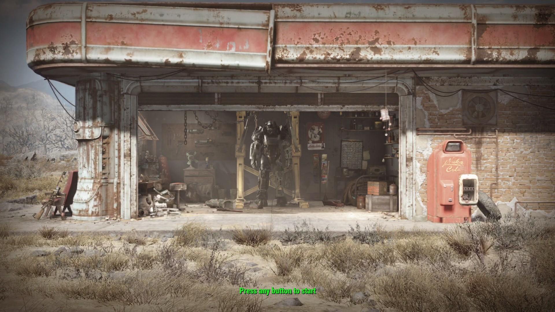 Menu Red Rocket. Fallout 4 …