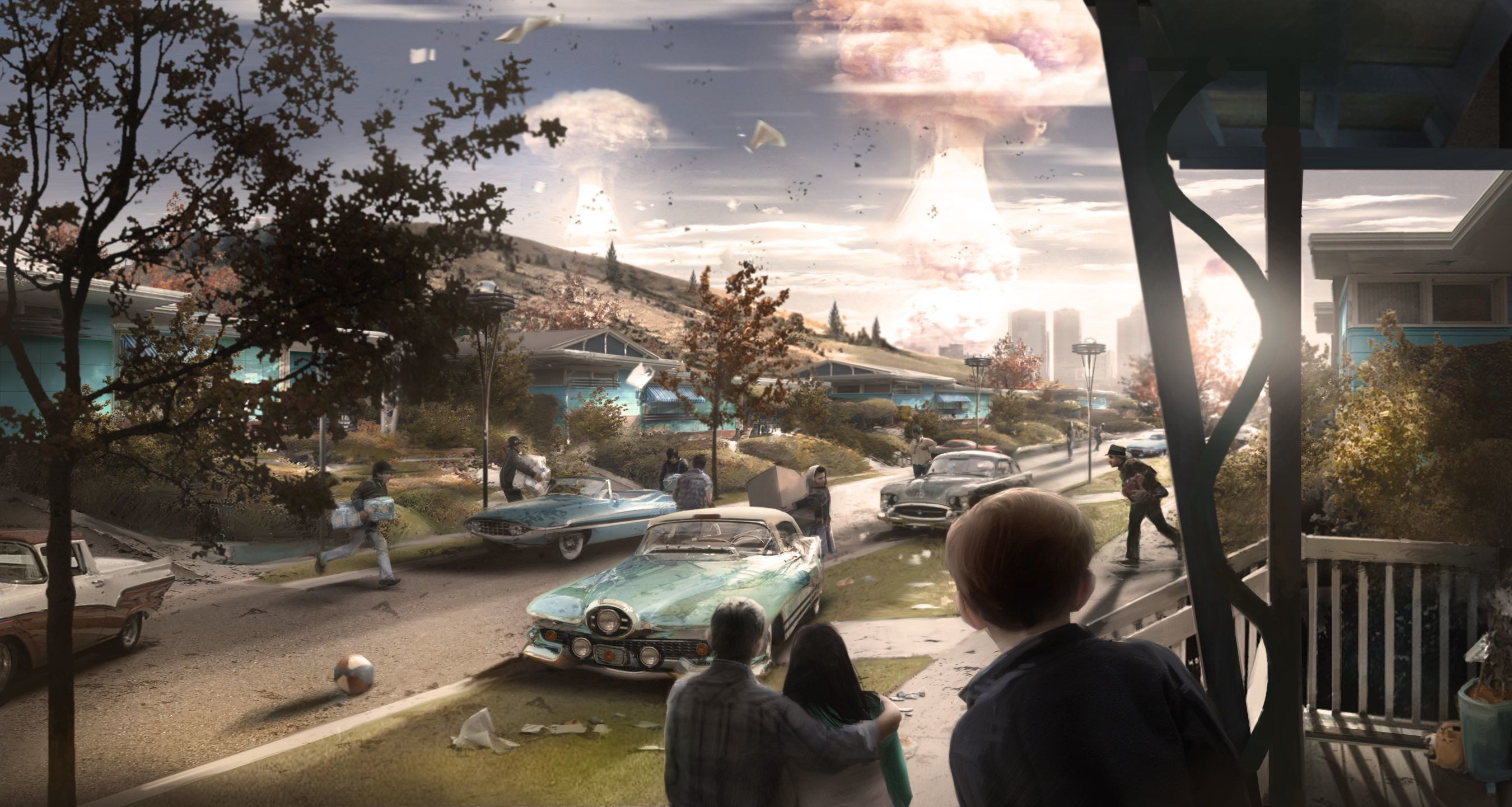 Fallout 4's concept art is wallpaper worthy
