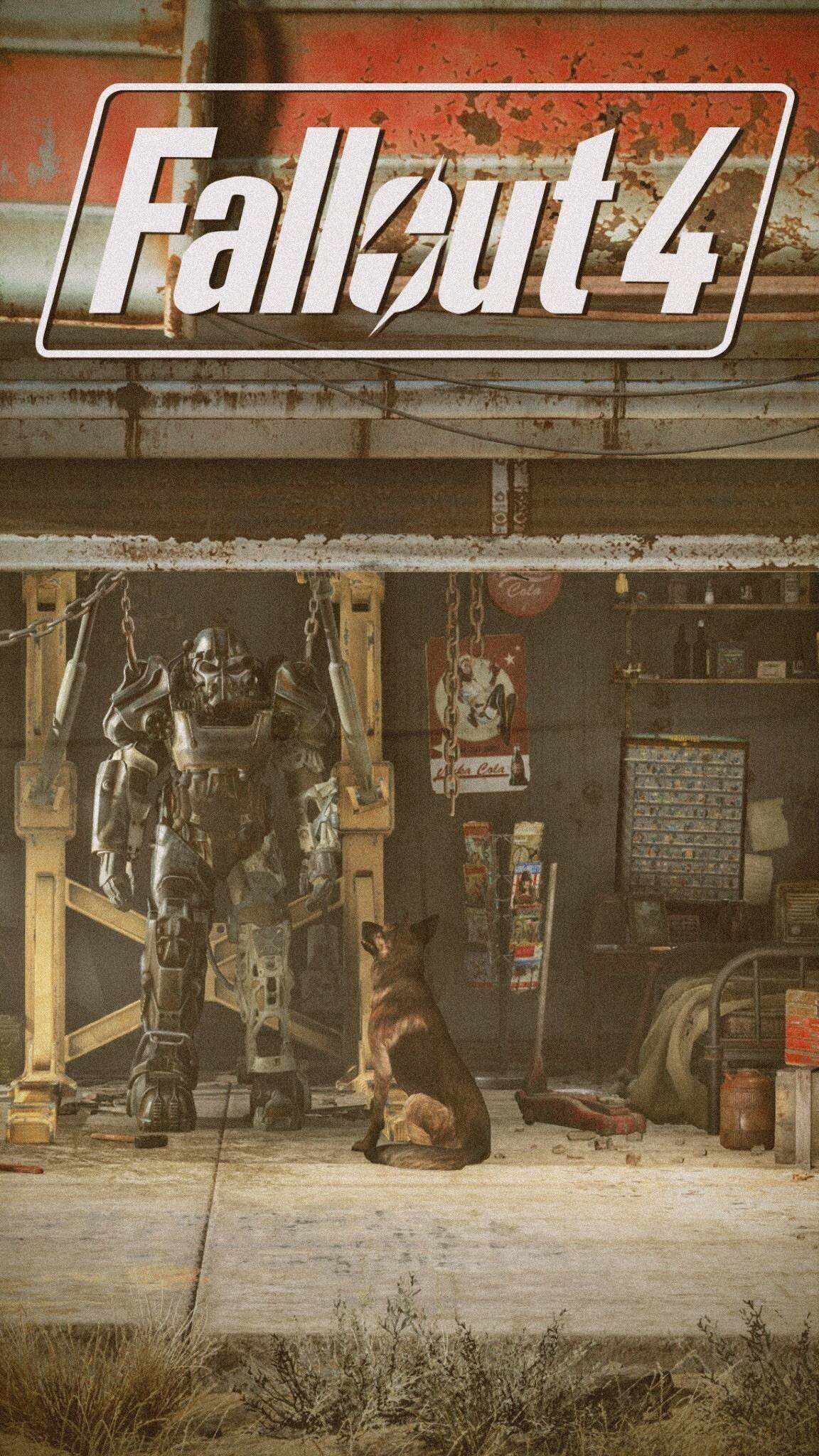 Fallout 4 iPhone Wallpaper : Fallout