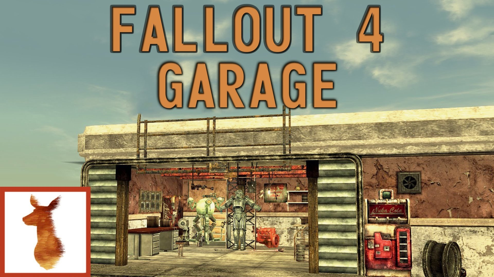fallout 4 garage wallpaper 4