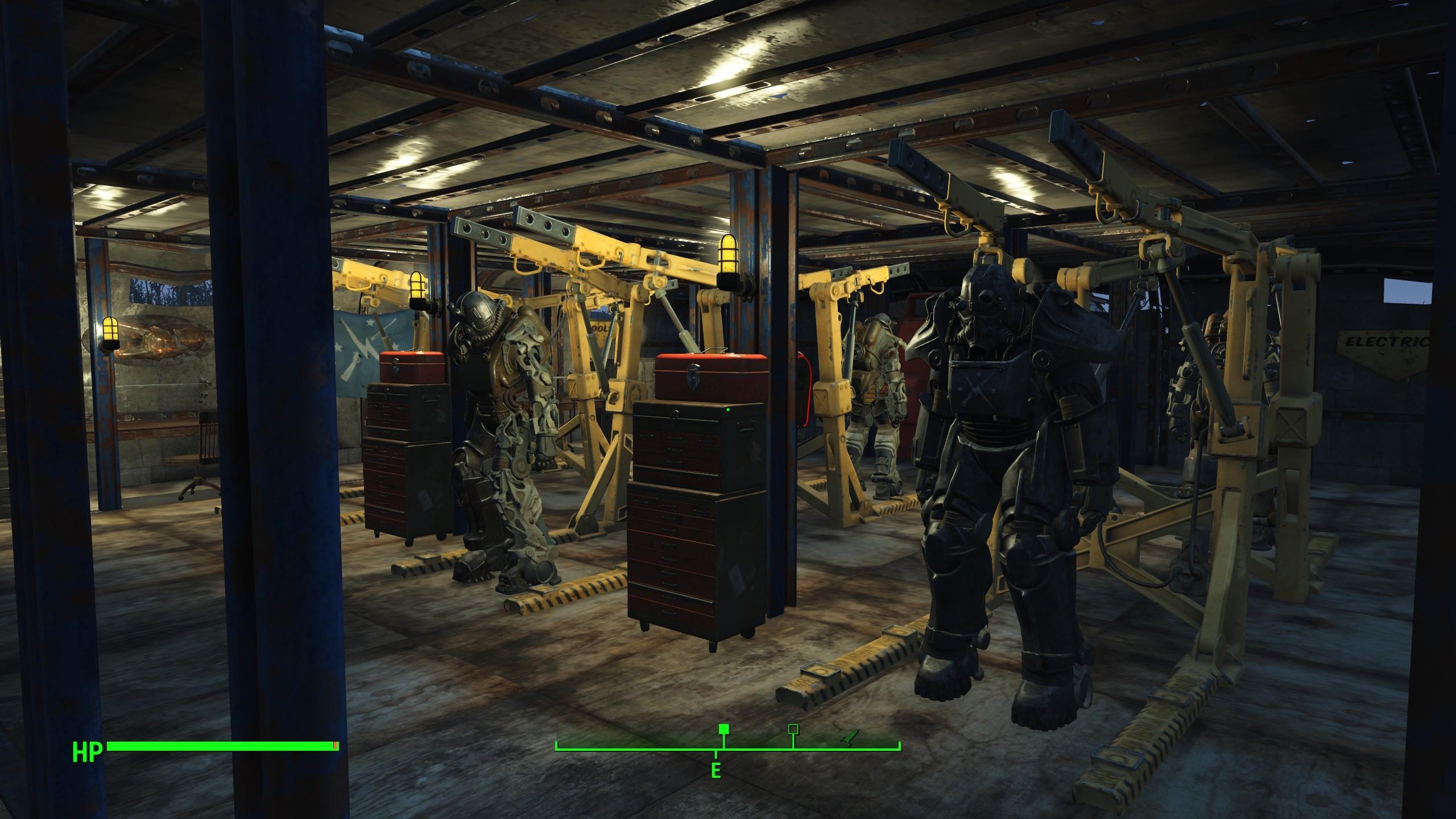 Fallout 4 Power Armor Garage