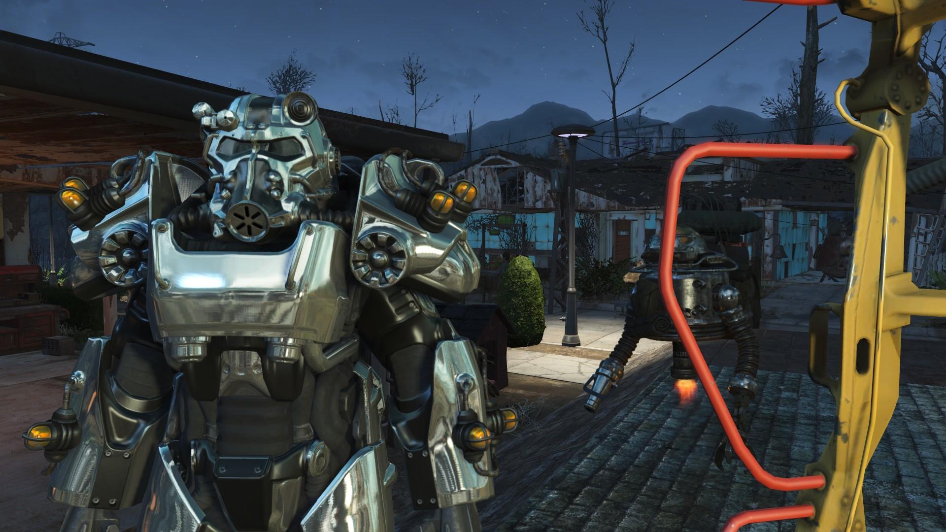 Worsin's Immersive Power Armor Garage – Automatron compatibility Patch  (Unofficial) – Fallout 4 Mod