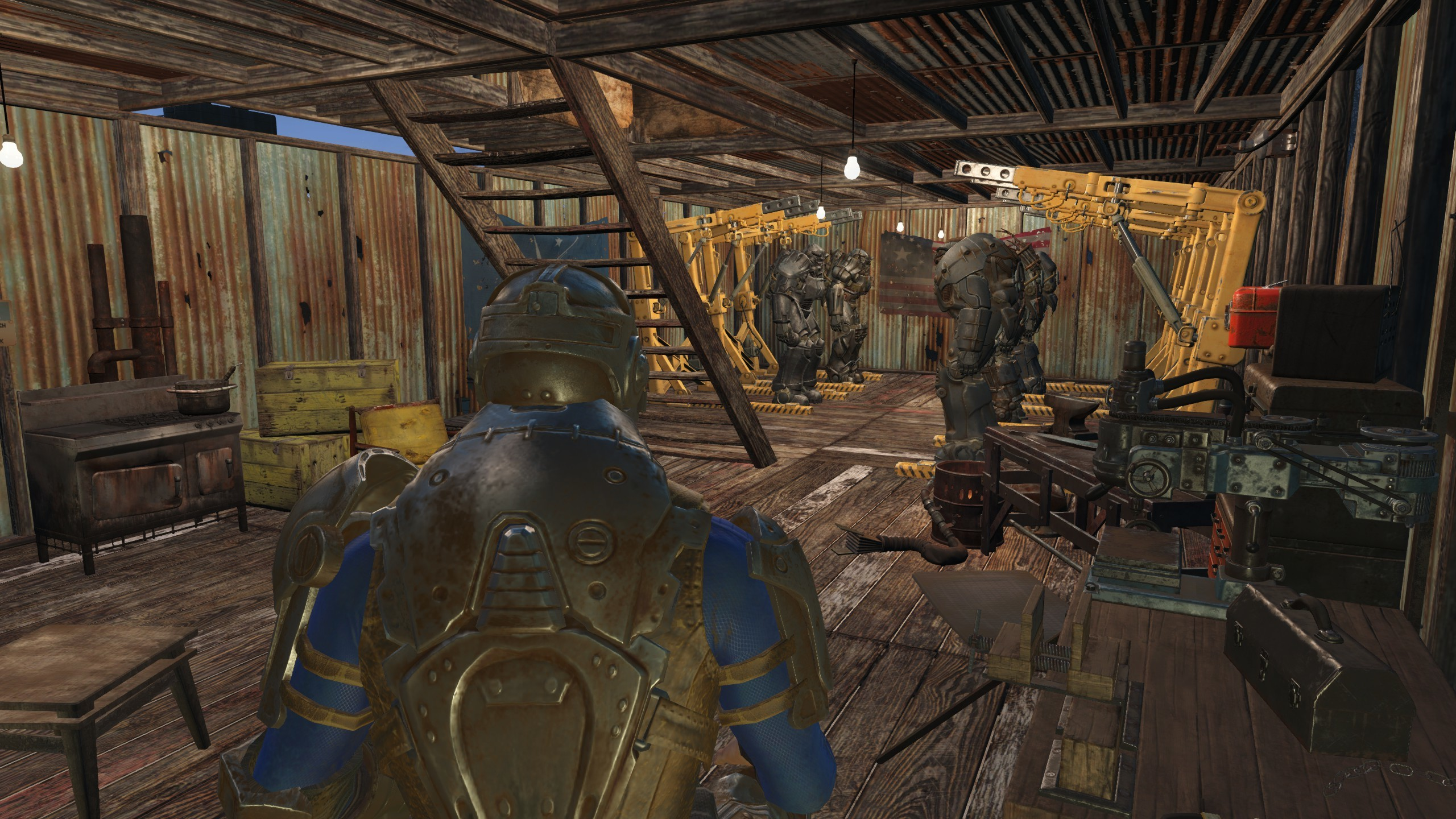 Fallout 4 Garage Reconstruction Project