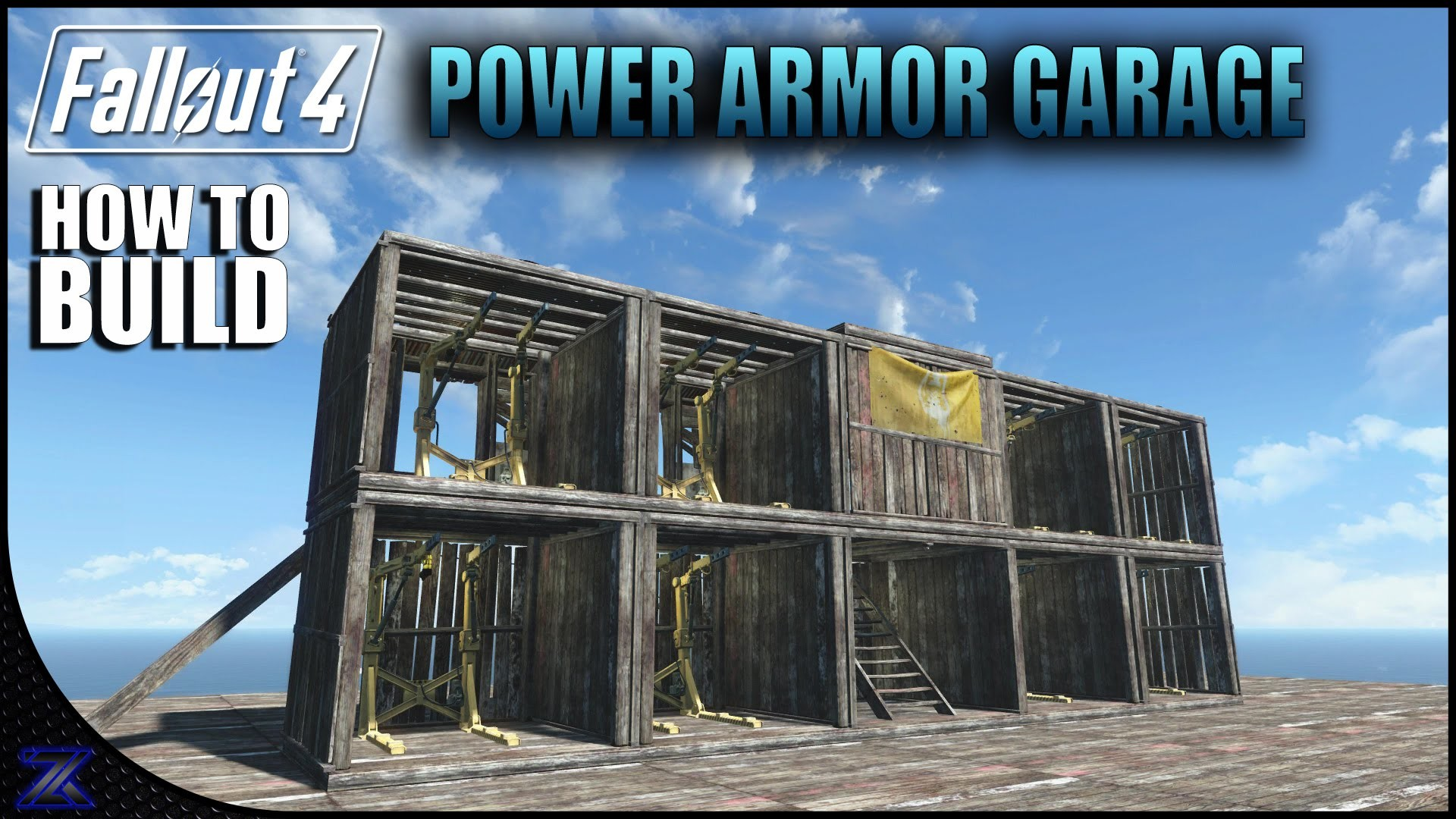 Fallout 4 – How to Build a Power Armor Garage | Settlement Building Ideas –  YouTube