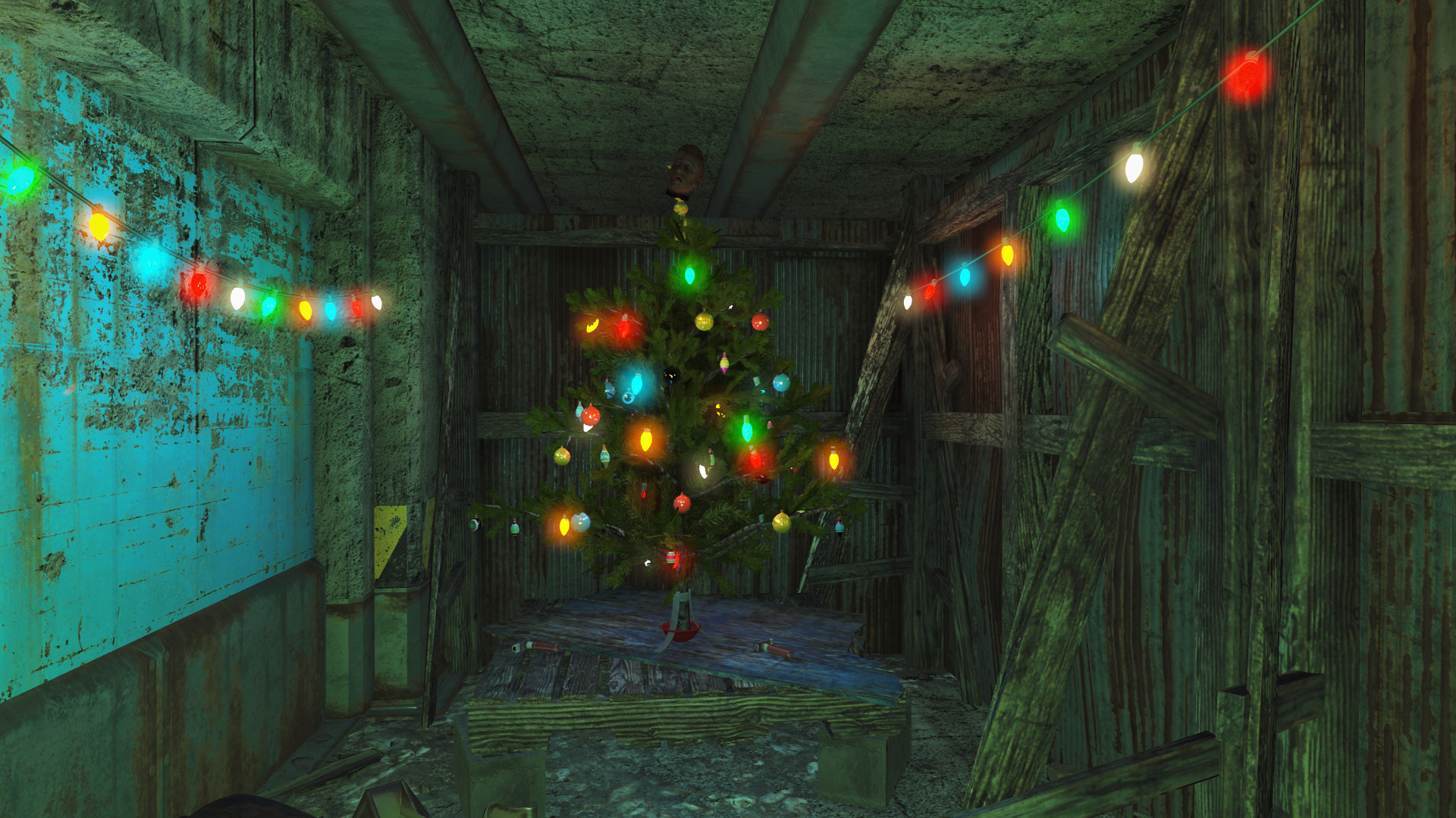 Merry Christmas from that maniac in the Milton parking garage #Fallout4  #gaming #Fallout