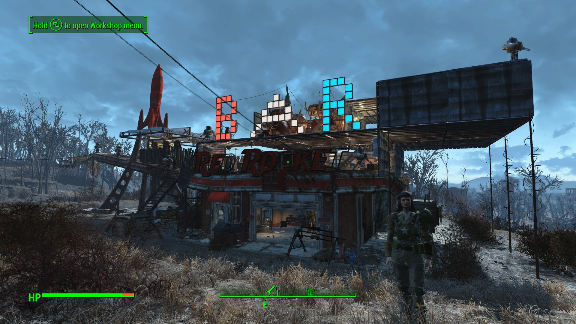fallout 4 settlement bar