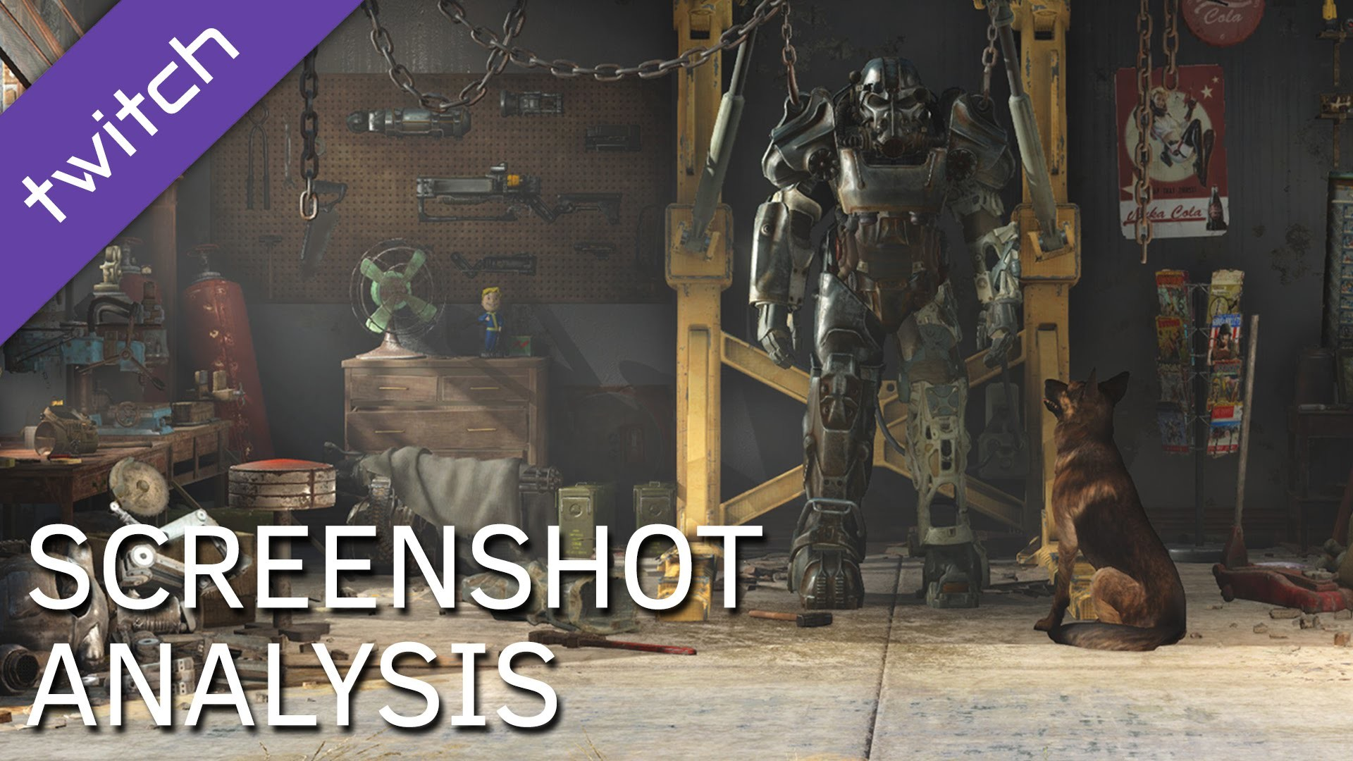 Fallout 4 First 4K Screenshot Analysis, Object-by-Object: Weapons, Armor,  and more!
