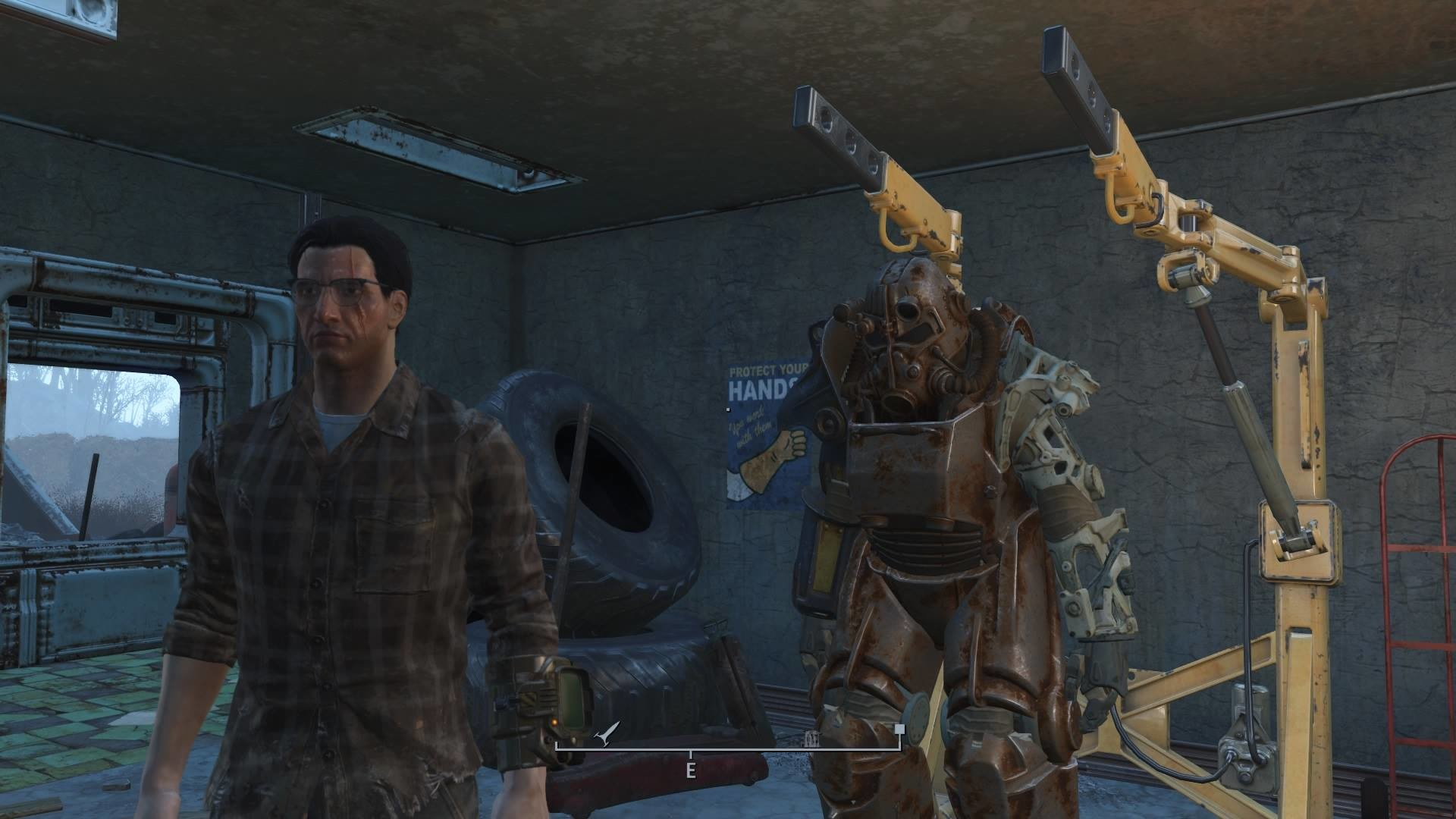 Here in my garage, just bought this new, uh, Power Armour here… (Fallout 4/Tai  Lopez parody)