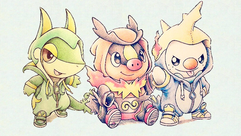 Pokemon Starters Wallpapers HD – Toueb
