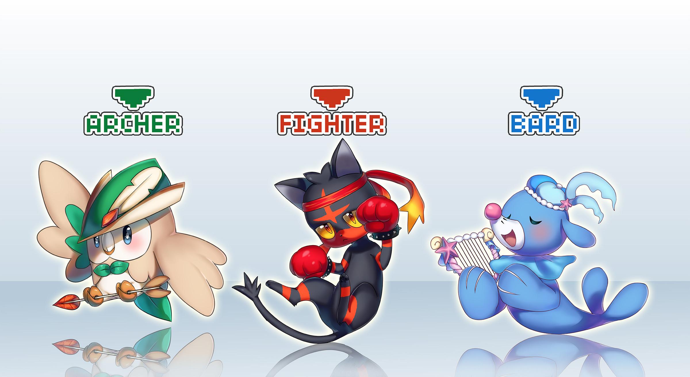 View Fullsize Starter Pokémon Image