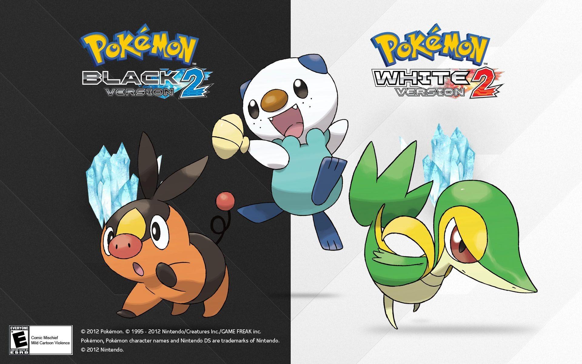 Pokemon Black and White 2 Wallpaper (HD)