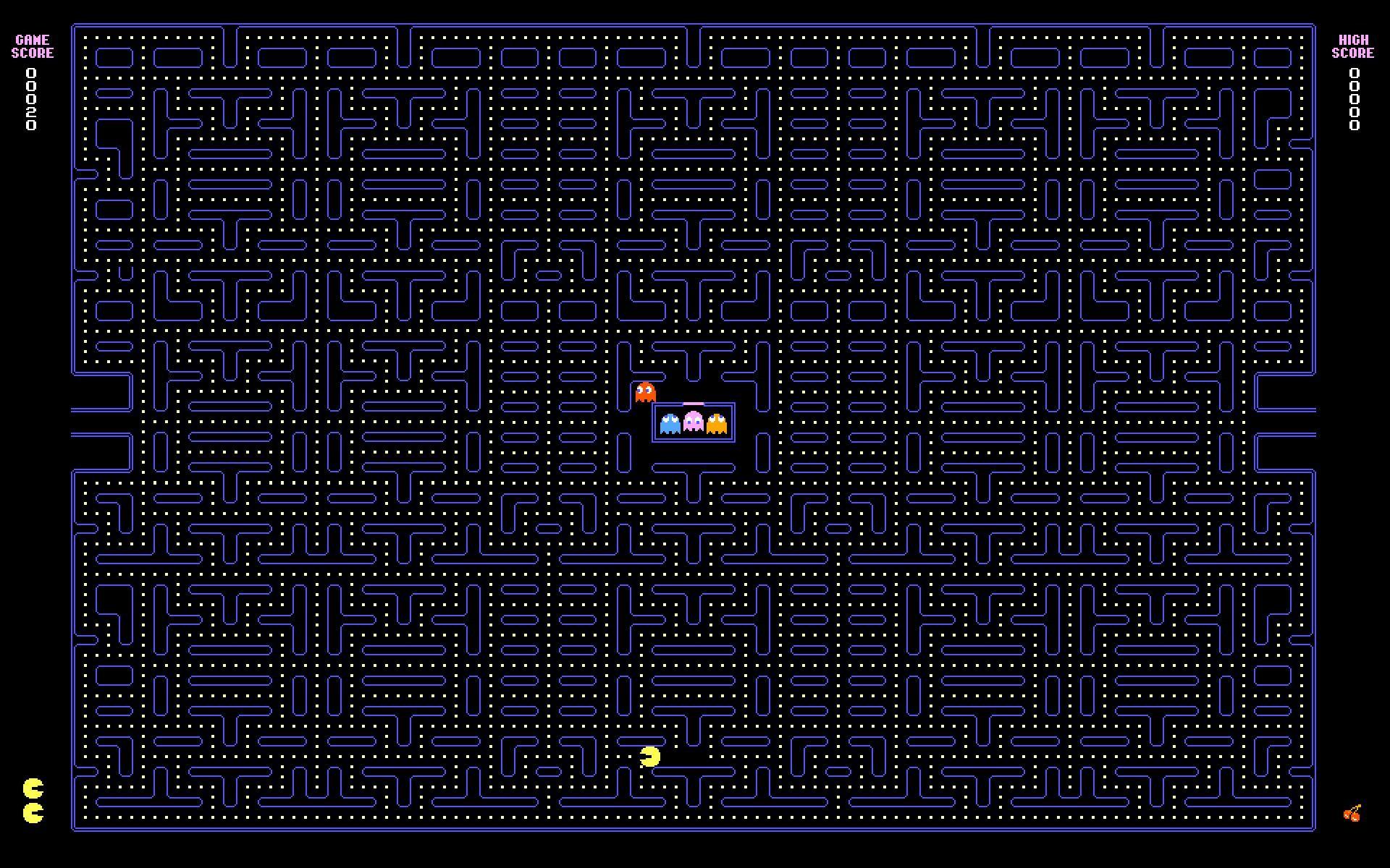Pacman-Game-Wallpaper