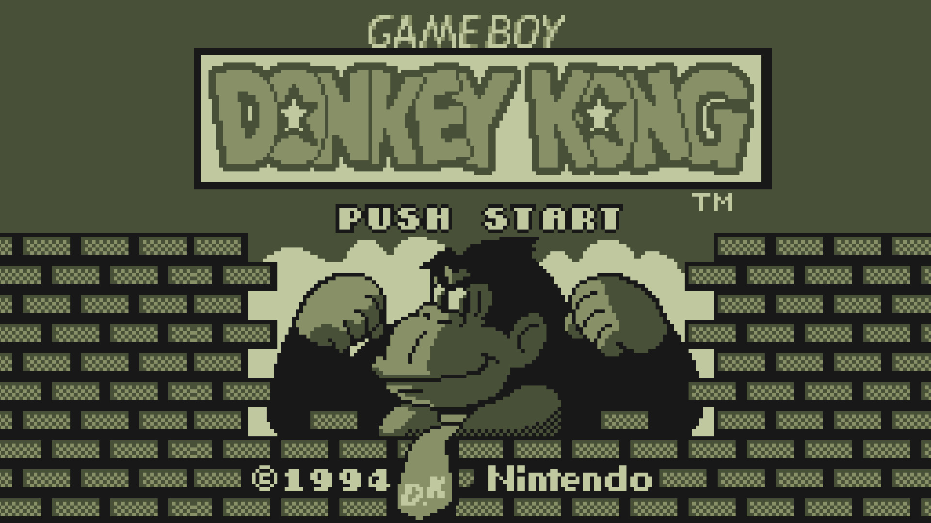 Video Game Wallpapers Donkey Kong