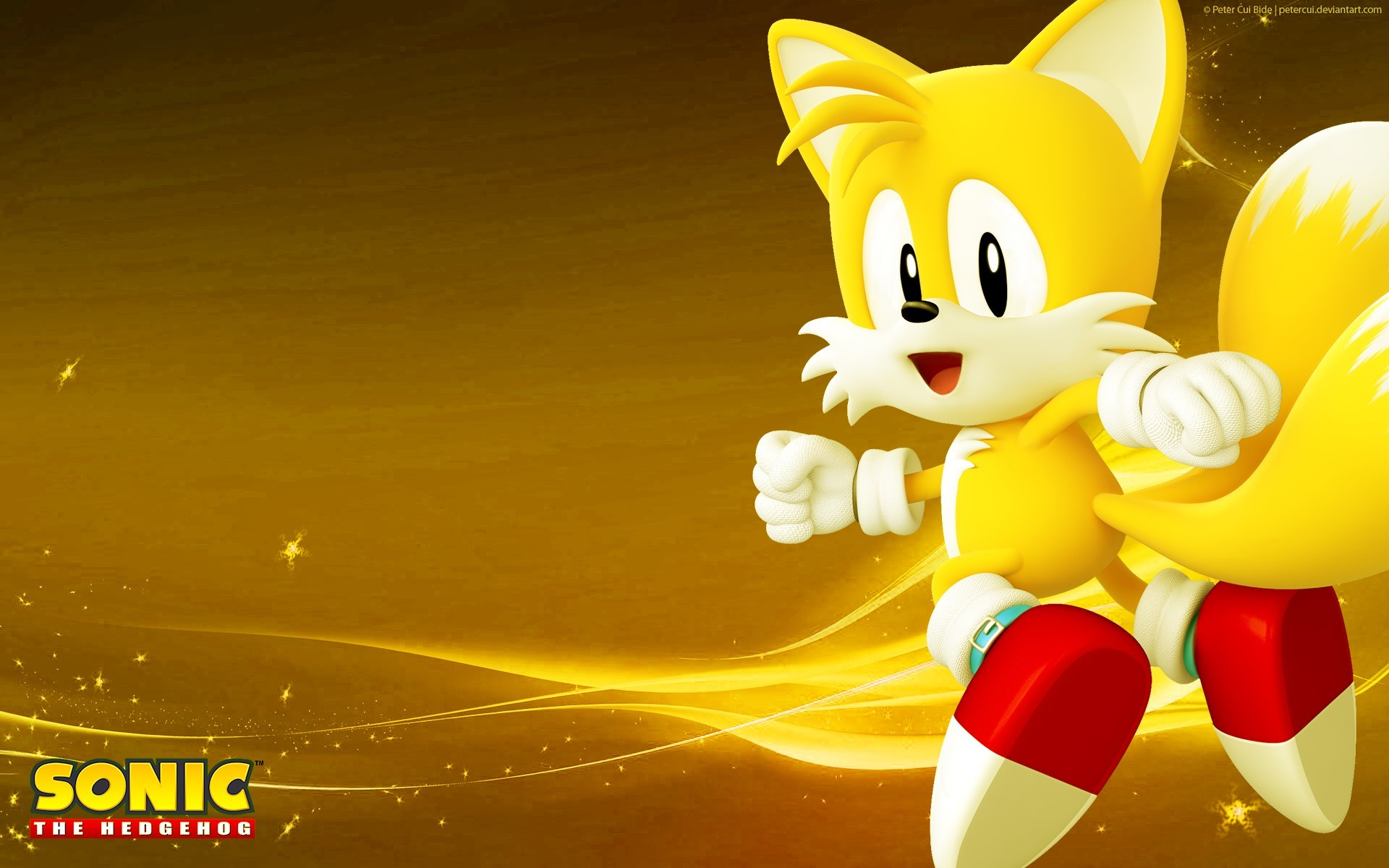 """Video Game – Sonic the Hedgehog Miles """"Tails"""" Prower Wallpaper"""