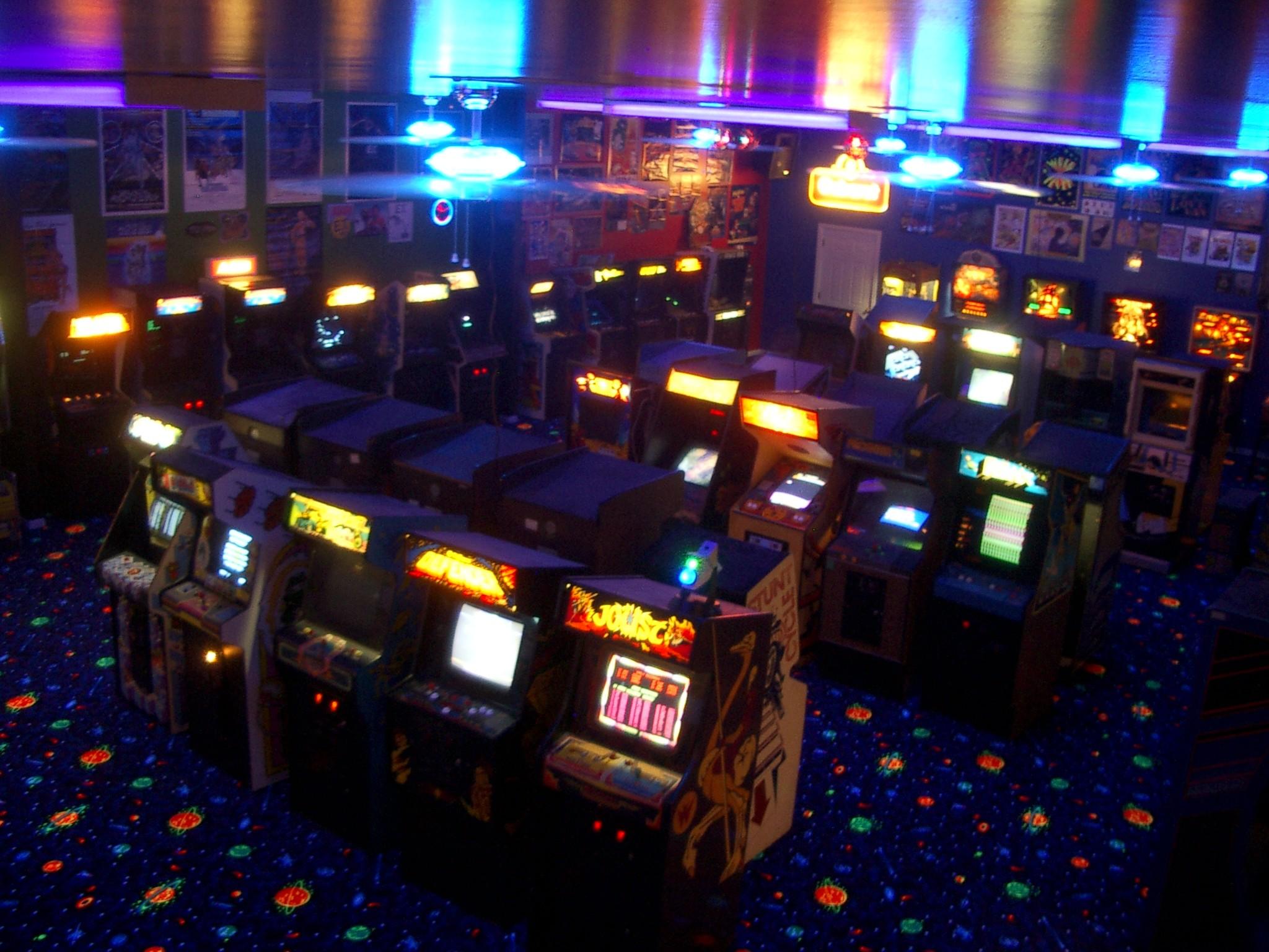 Arcade Wallpaper HD – WallpaperSafari