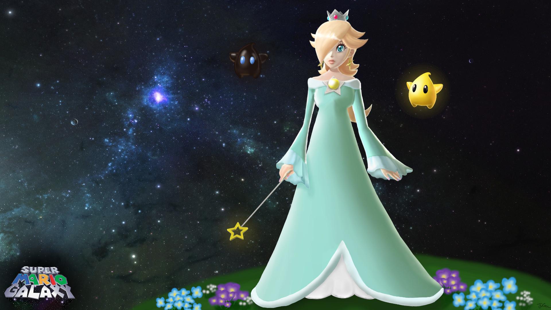 Rosalina – Super Mario Galaxy by KevinGhost on deviantART