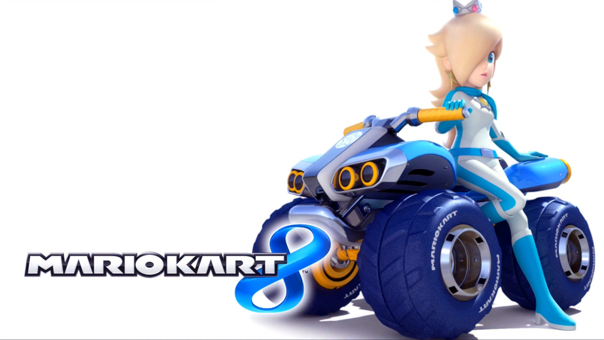 Image – Mario Kart 8 Title Screen (Rosalina).png   Mario Kart Racing Wiki    FANDOM powered by Wikia