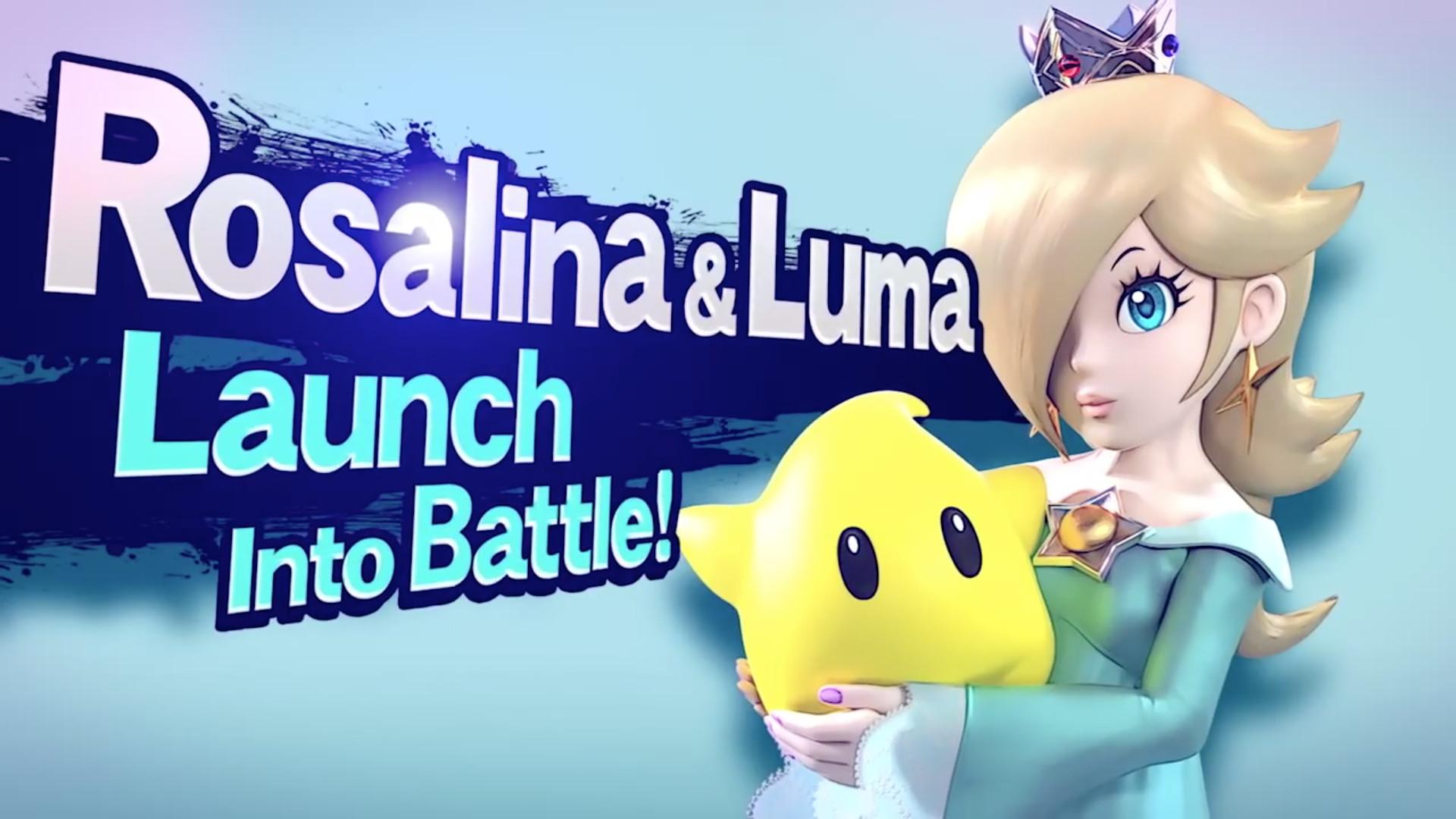 Rosalina & Luma join the battle! (Image: taken from Rosalina's Smash  trailer)