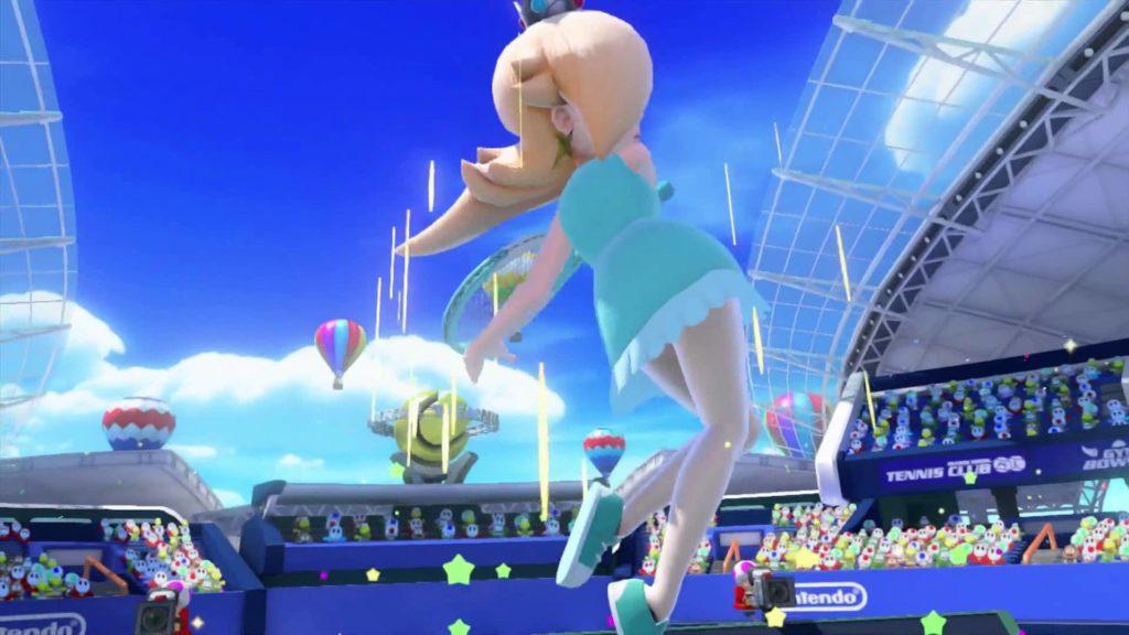 Mario Tennis: Ultra Smash direct feed gameplay [NWR_Aaron (Rosalina) vs.  NOA_Ali (Yoshi) game 3] – YouTube