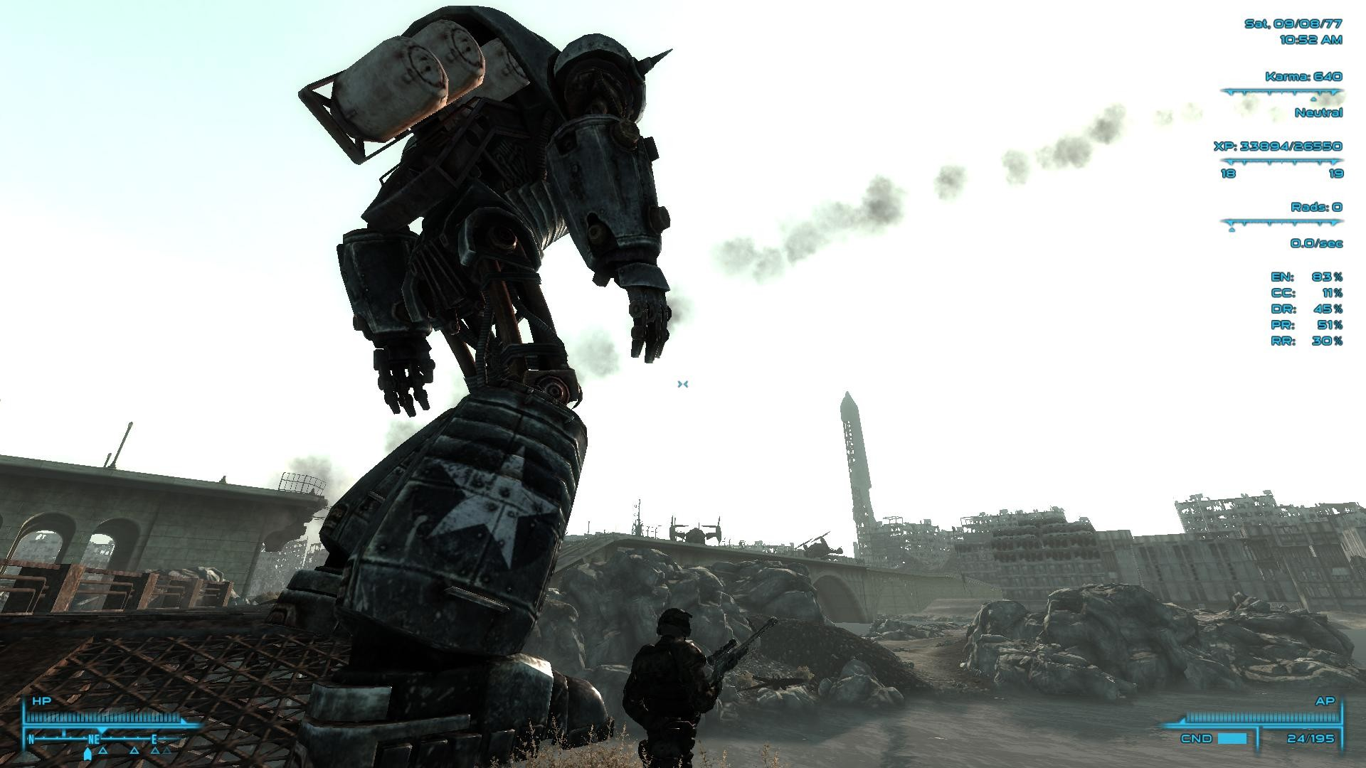 Liberty Prime won't move during Take it Back! quest. – Fallout 3 Message  Board for PC – GameFAQs