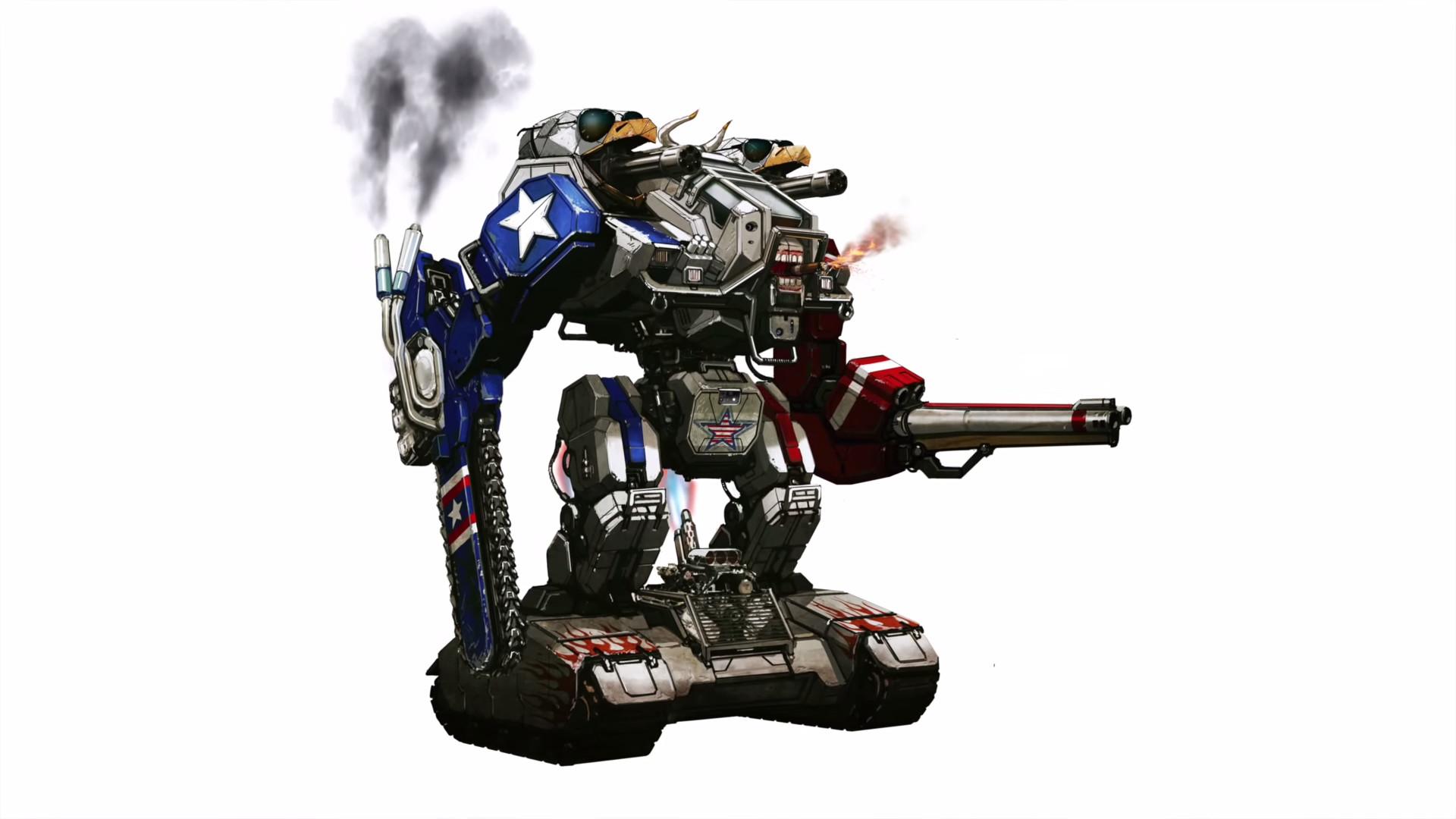 Liberty Prime confirmed for real life. Megabots, you da real MVP.