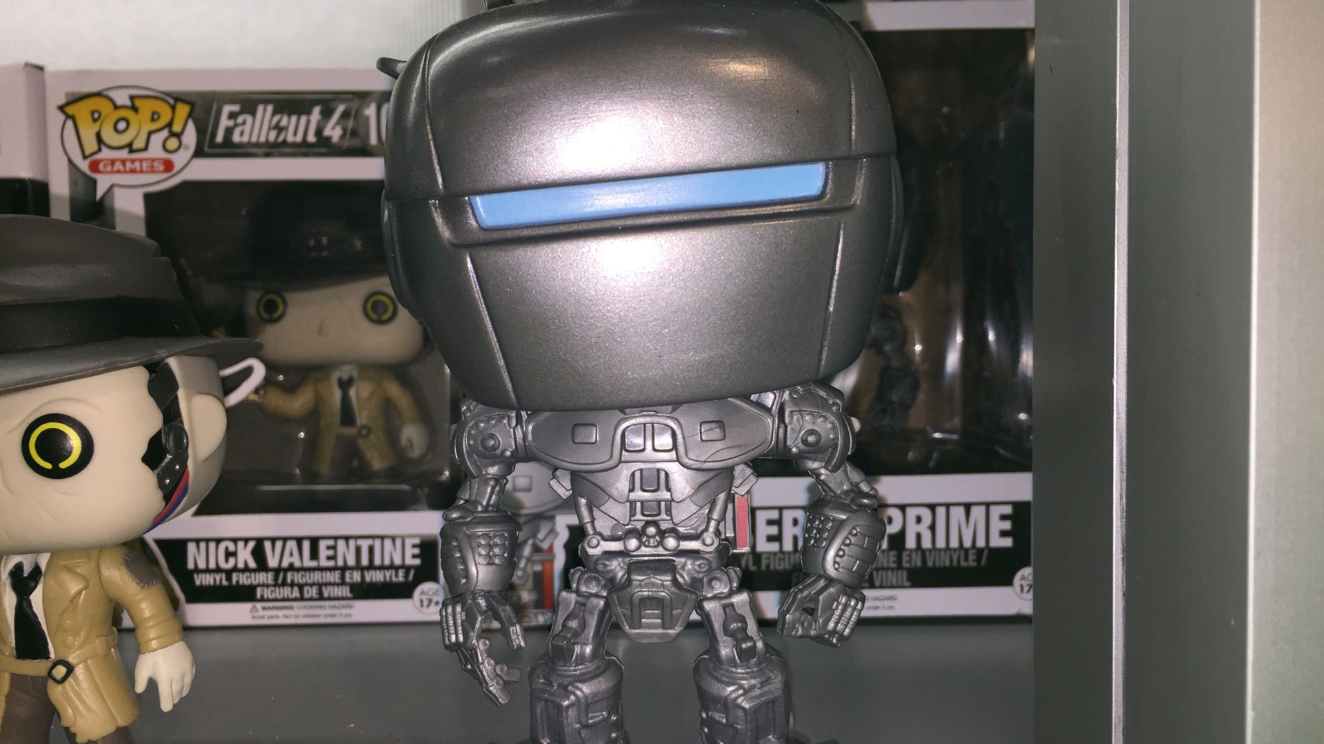 Funko Pop Fallout 4 Liberty Prime #167 Vinyl Figure at Toy Fair 2017