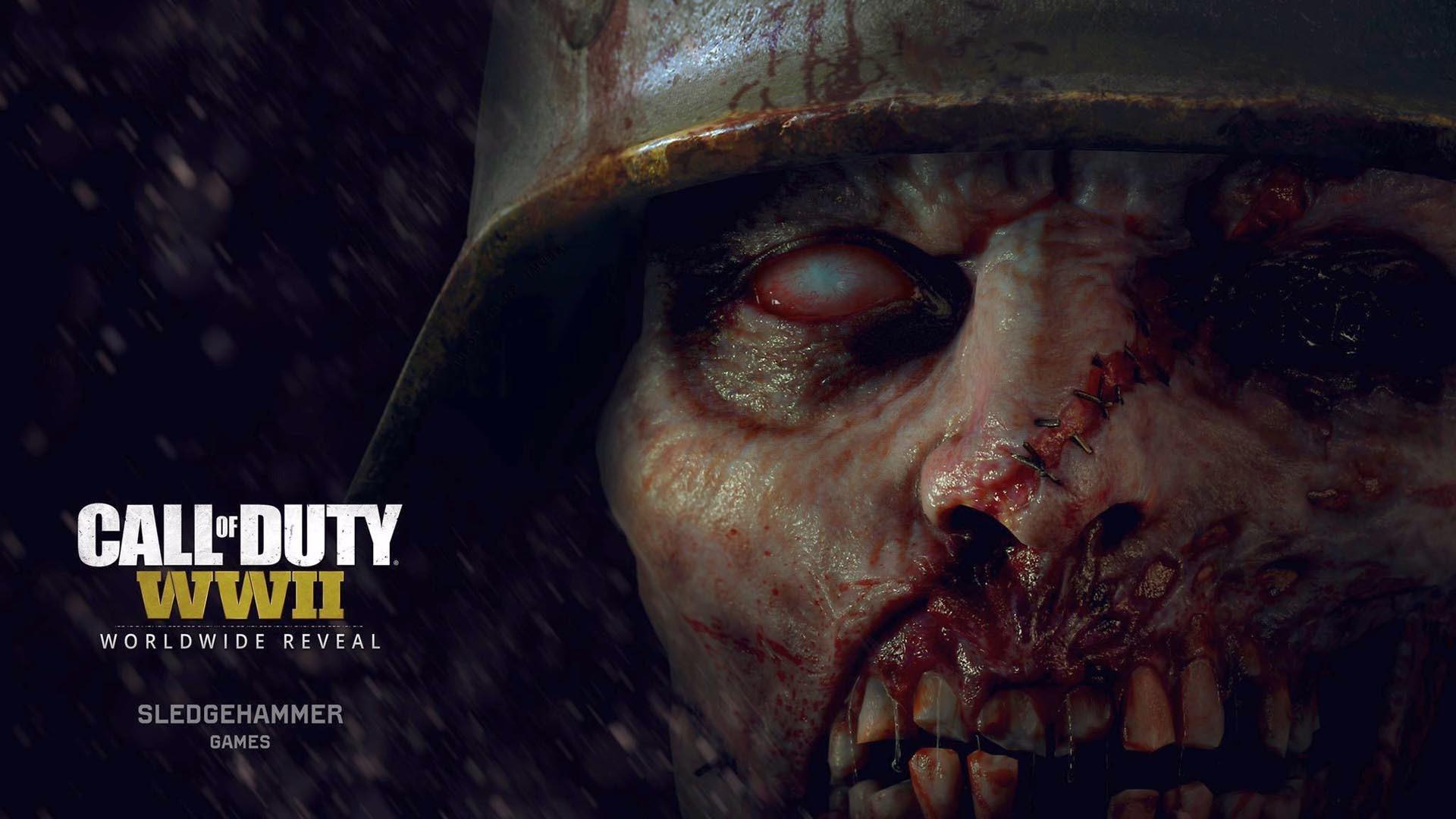 Call of Duty: WWII – Nazi Zombies Mod wallpaper