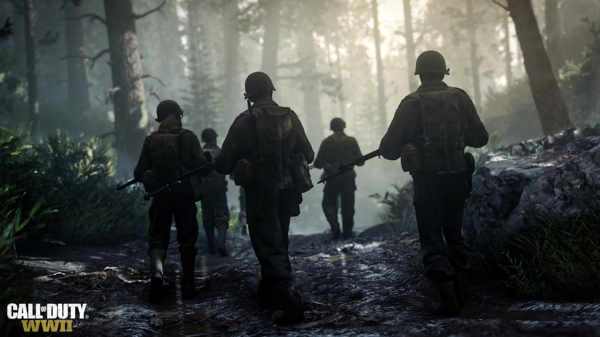 Call of Duty: WWII HD wallpaper
