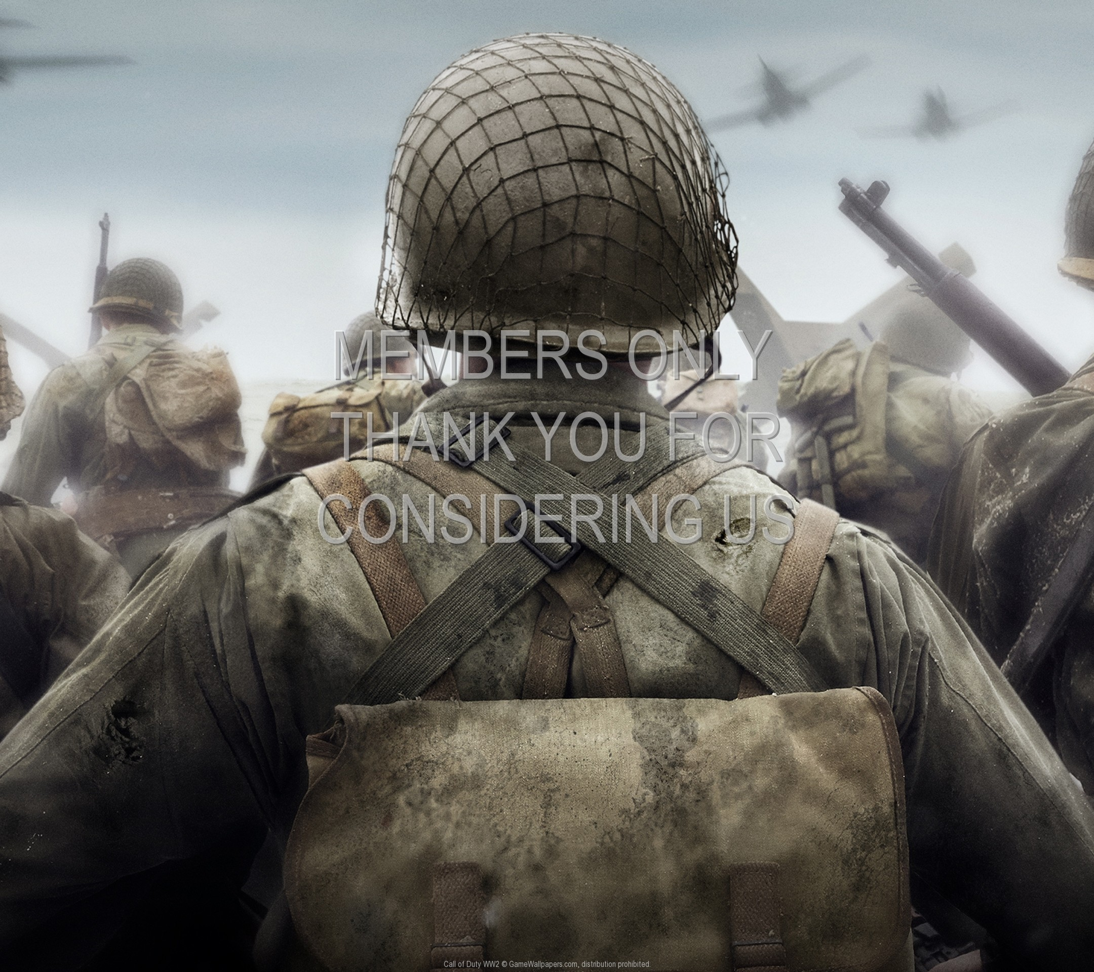 Call of Duty: WW2 1920×1080 Mobile wallpaper or background 01