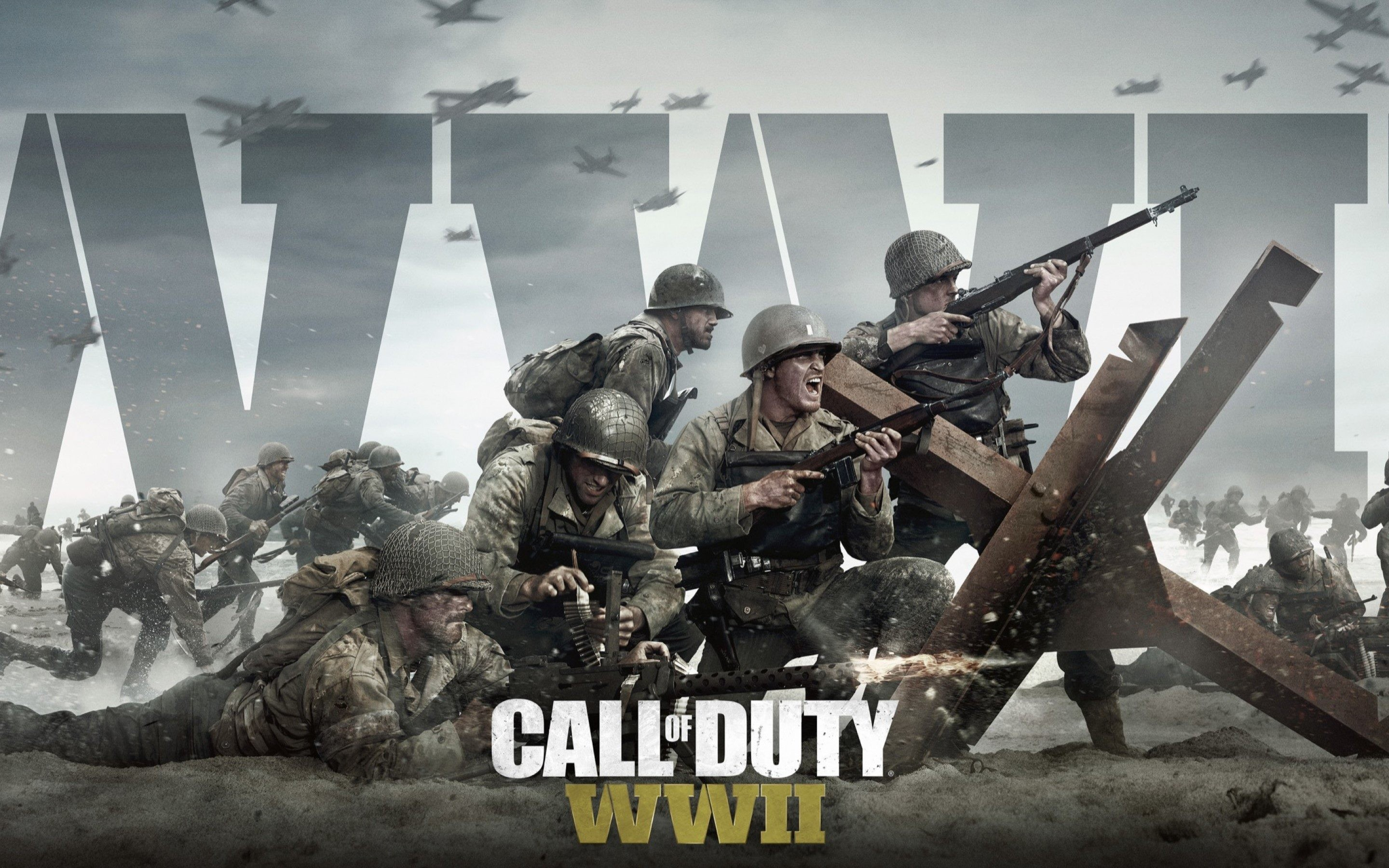 Call Of Duty WW2 Game Wallpaper
