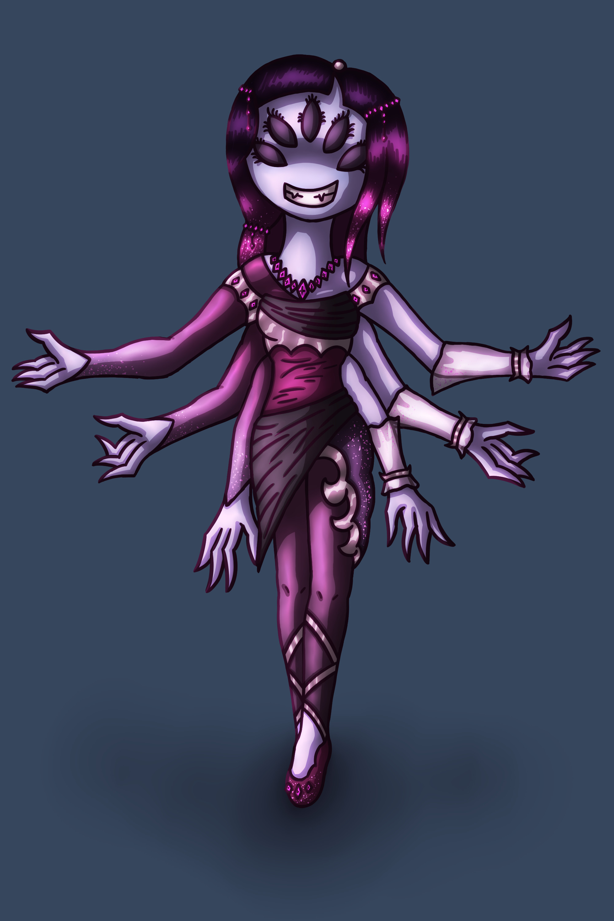 … Muffet Original Design by Kana-The-Drifter