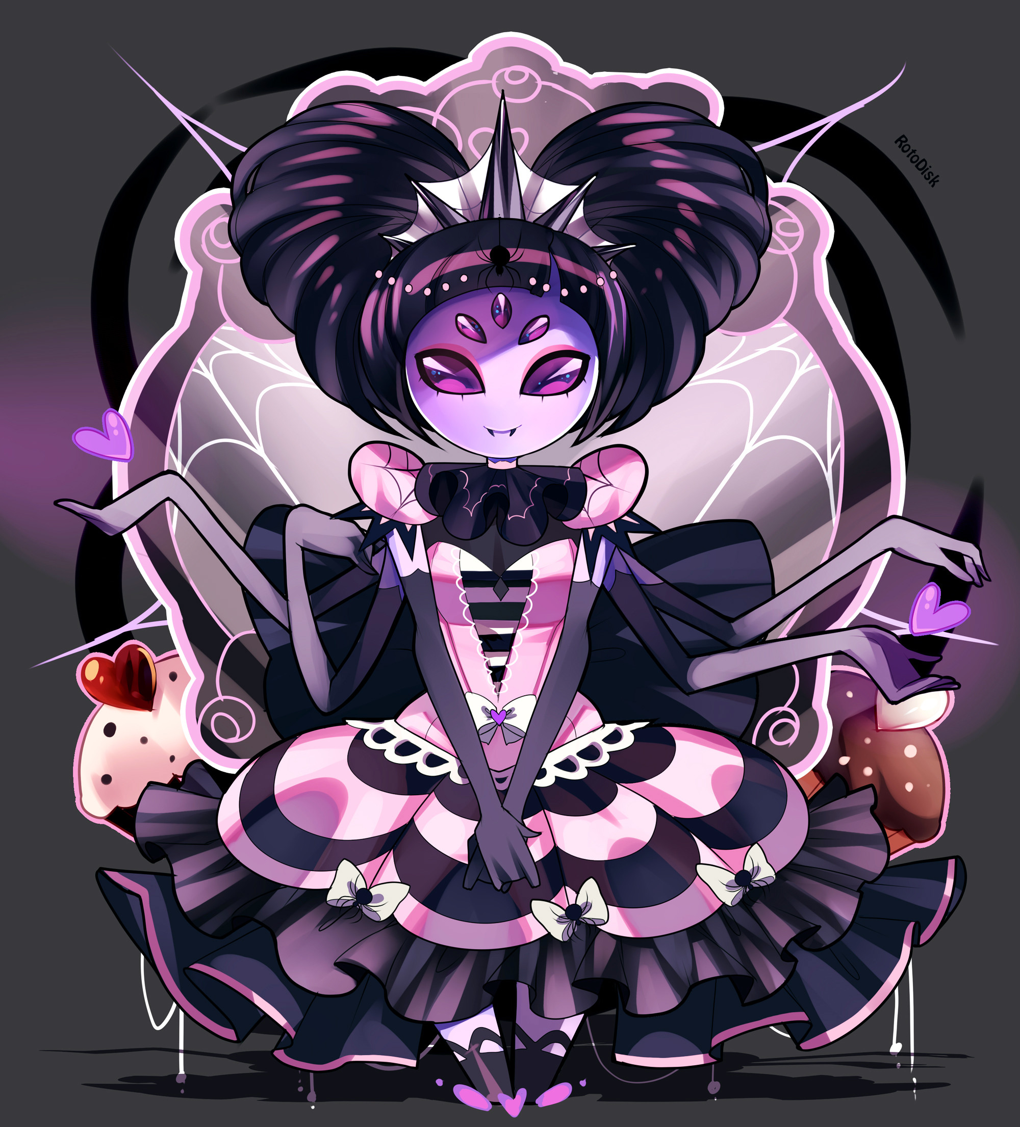 … -Spider Princess- by RotoDisk
