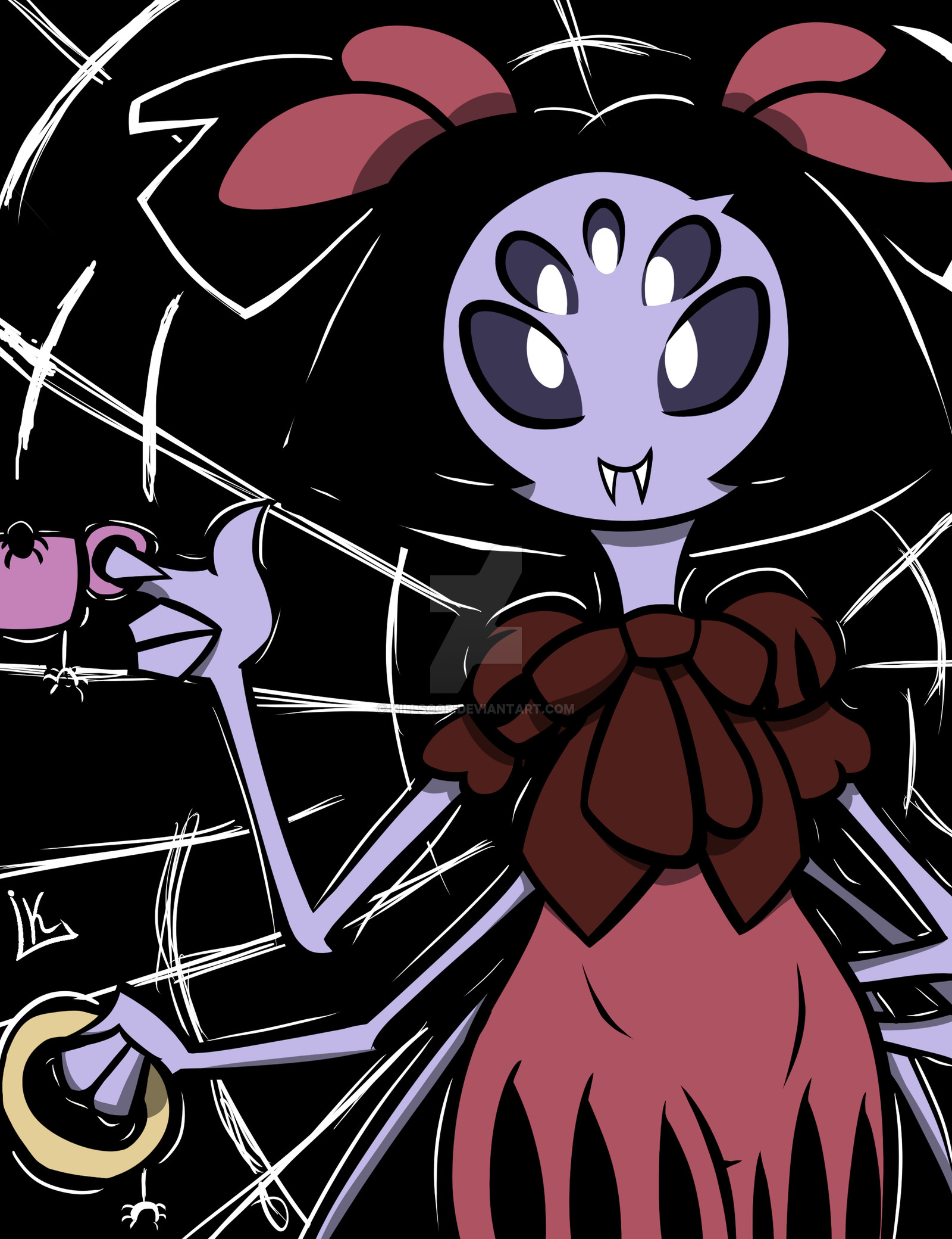 … [Undertale/Muffet] Do you want a cup of spider ? by Killscor
