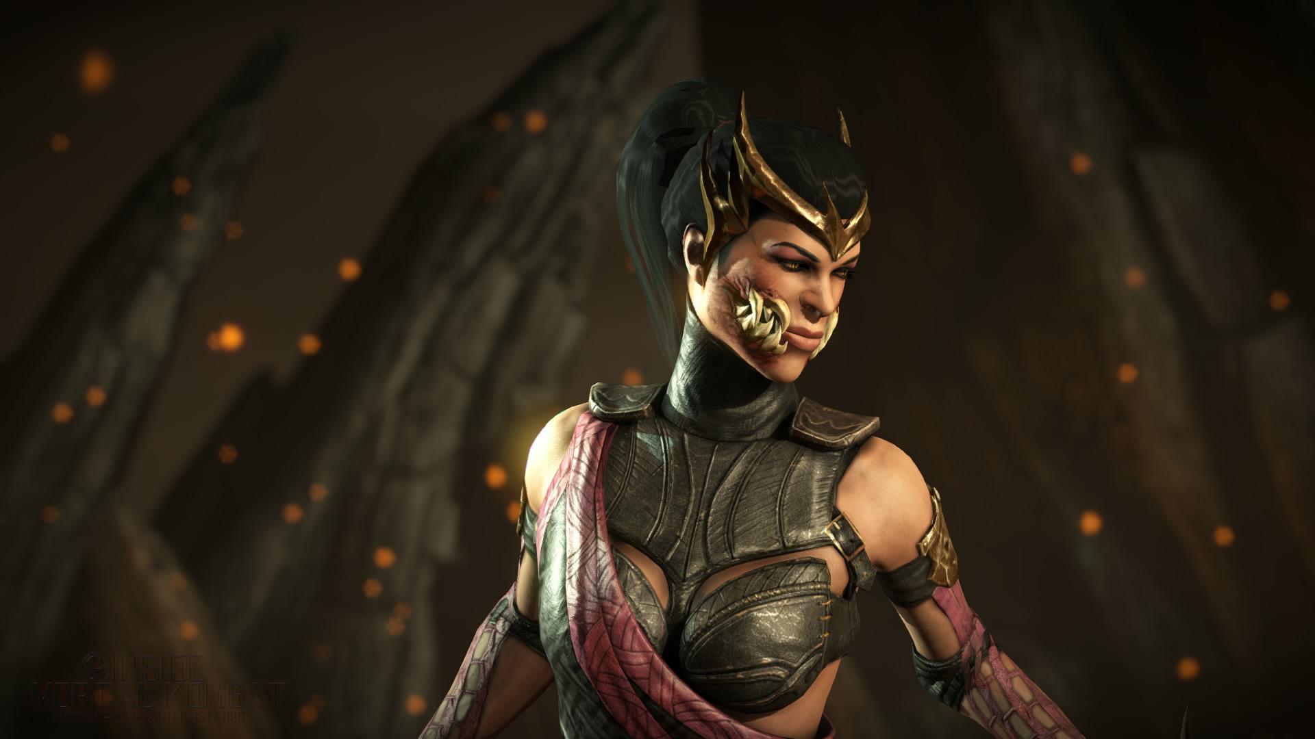 MKX] Mortal Kombat X Costume Render HD – Kitana Klassic, Mileena .