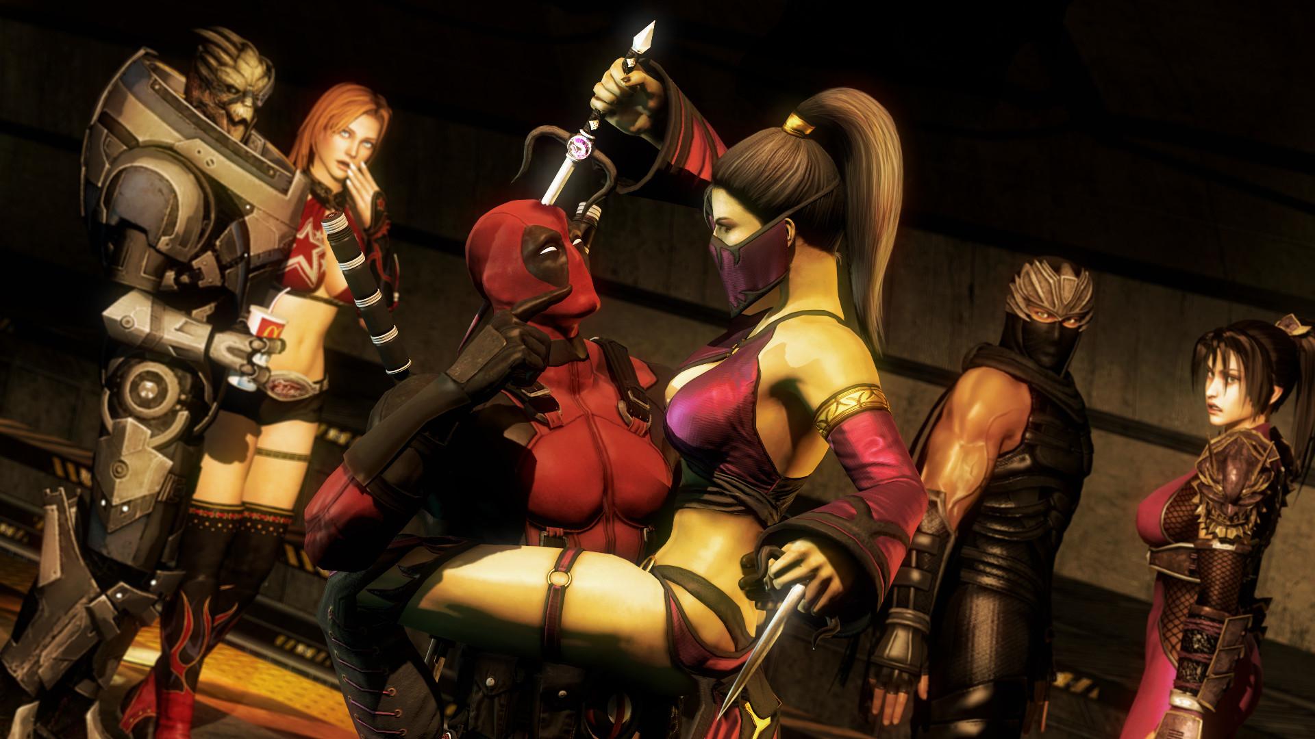 Marvelous Mortal Kombat X Mileena Wallpaper Wallpapersafari Picture Gallery