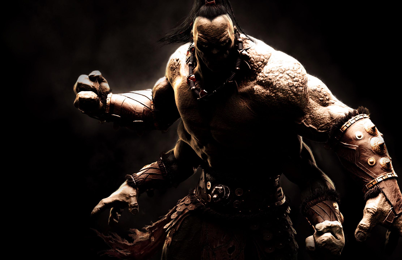 Goro in Mortal Kombat X MKX Official Art