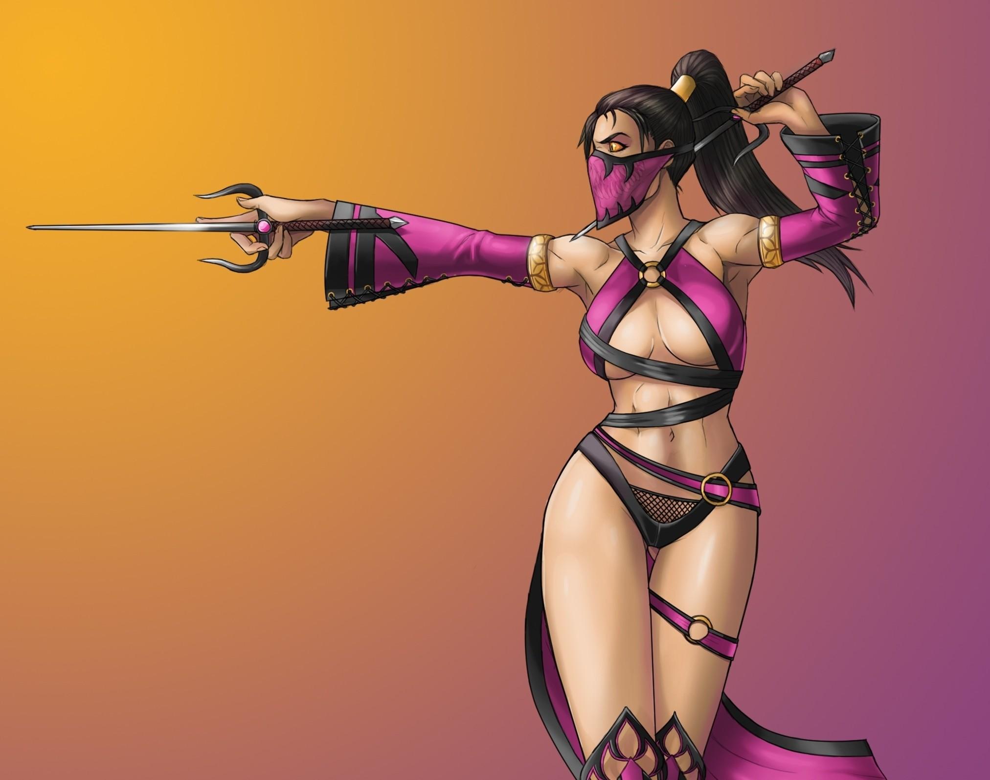 Mortal Kombat wallpaper Mileena with daggers Read more