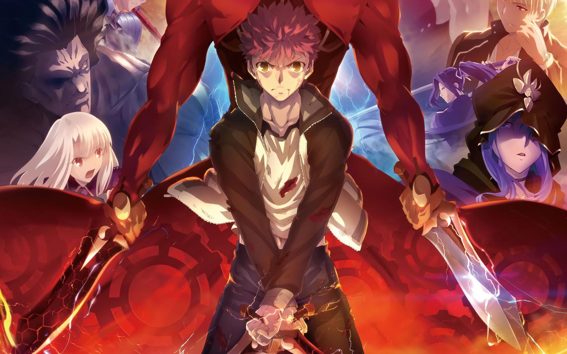 Anime – Fate/Stay Night: Unlimited Blade Works Illyasviel Von Einzbern  Shirou Emiya Archer
