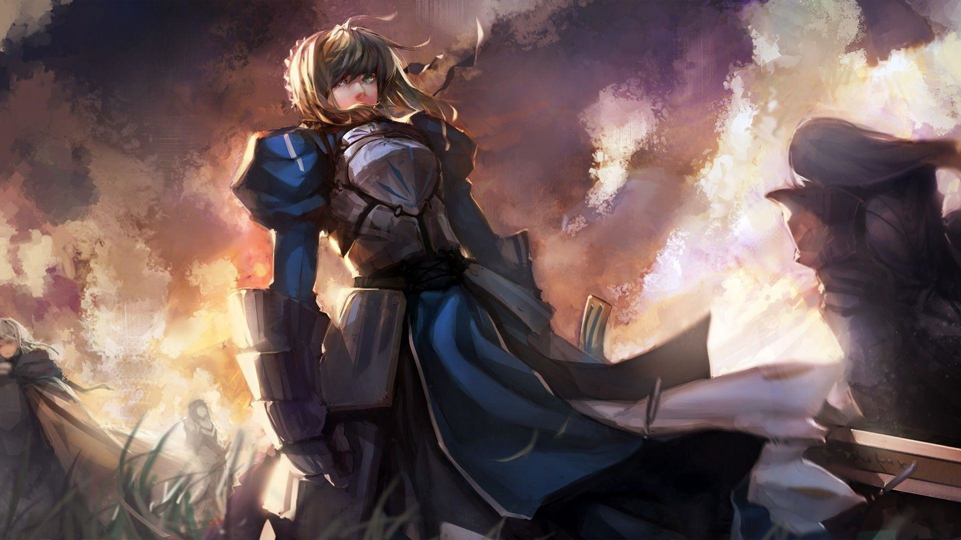 75 Fate Stay Night Wallpaper Hd